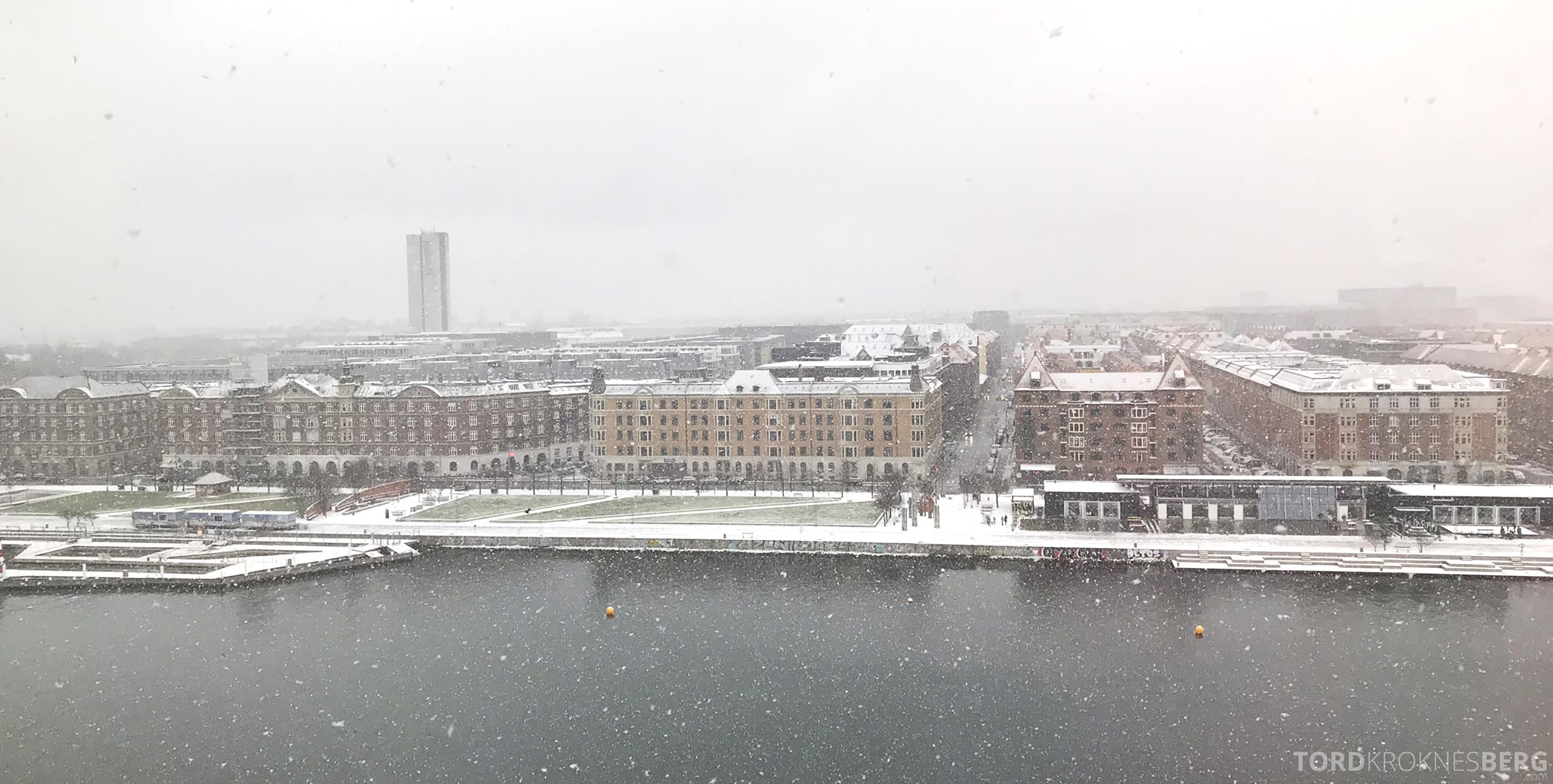 Marriott Copenhagen Hotel sne