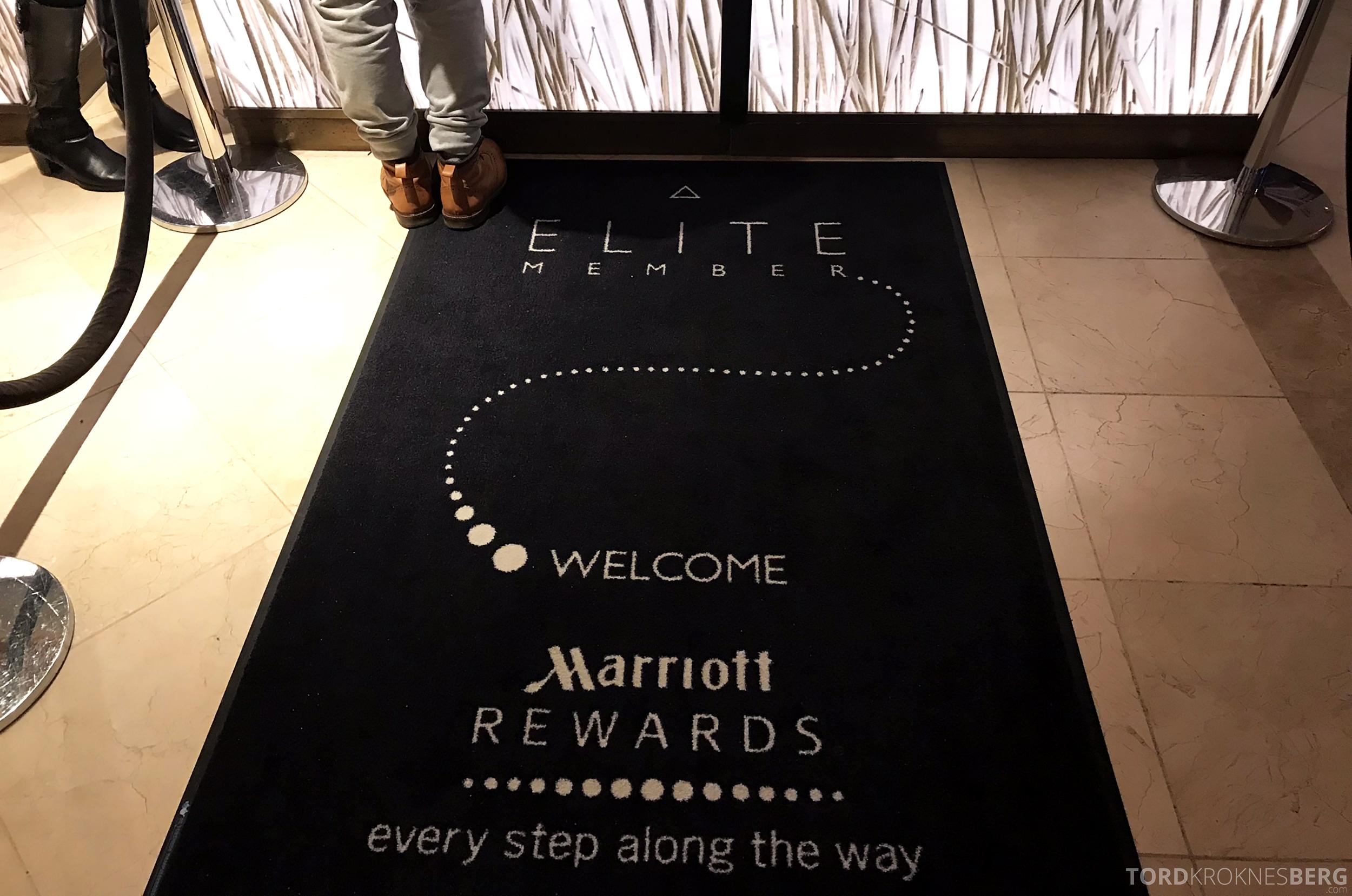 Marriott Copenhagen Hotel elite member