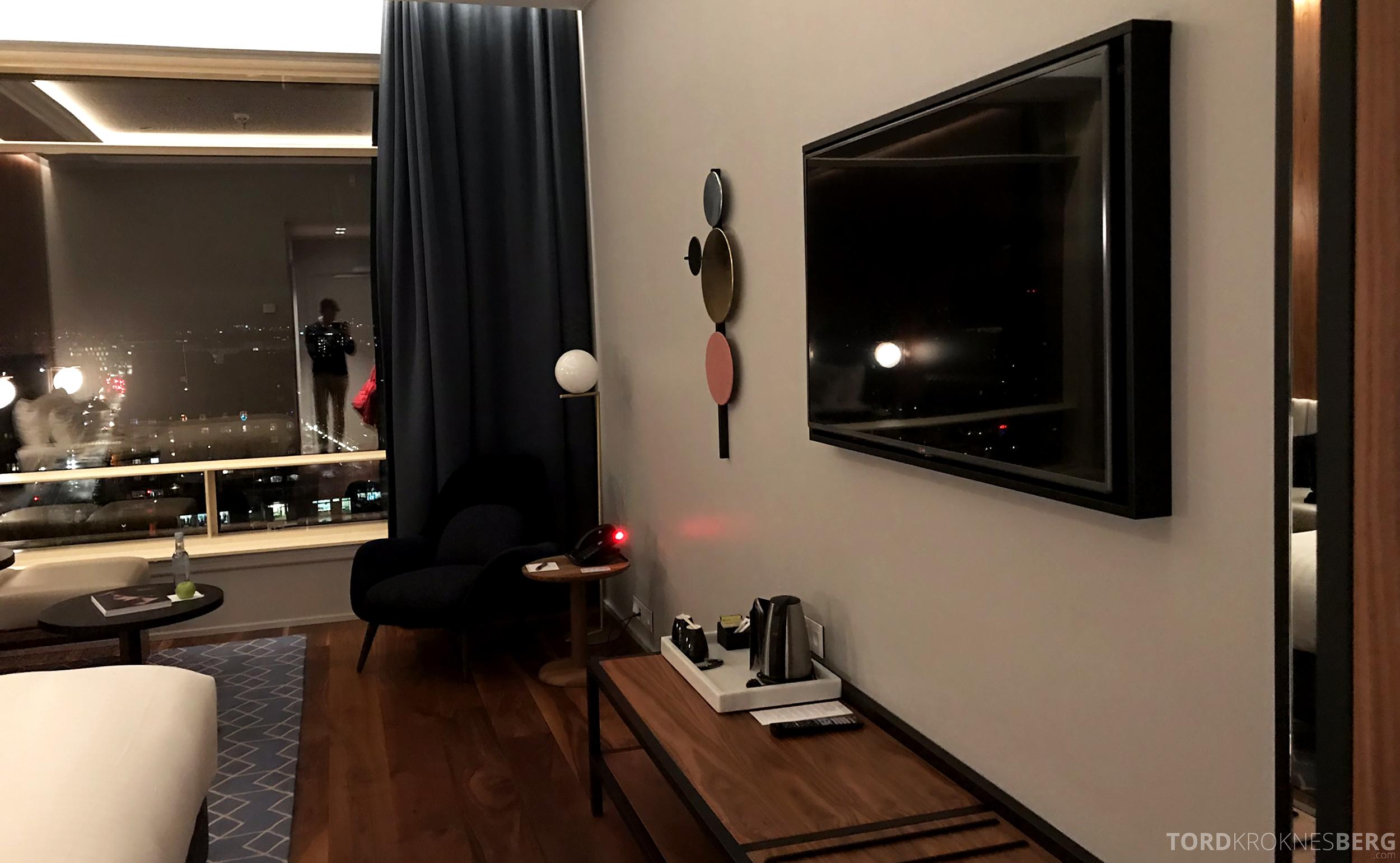 Marriott Copenhagen Hotel fjernsyn