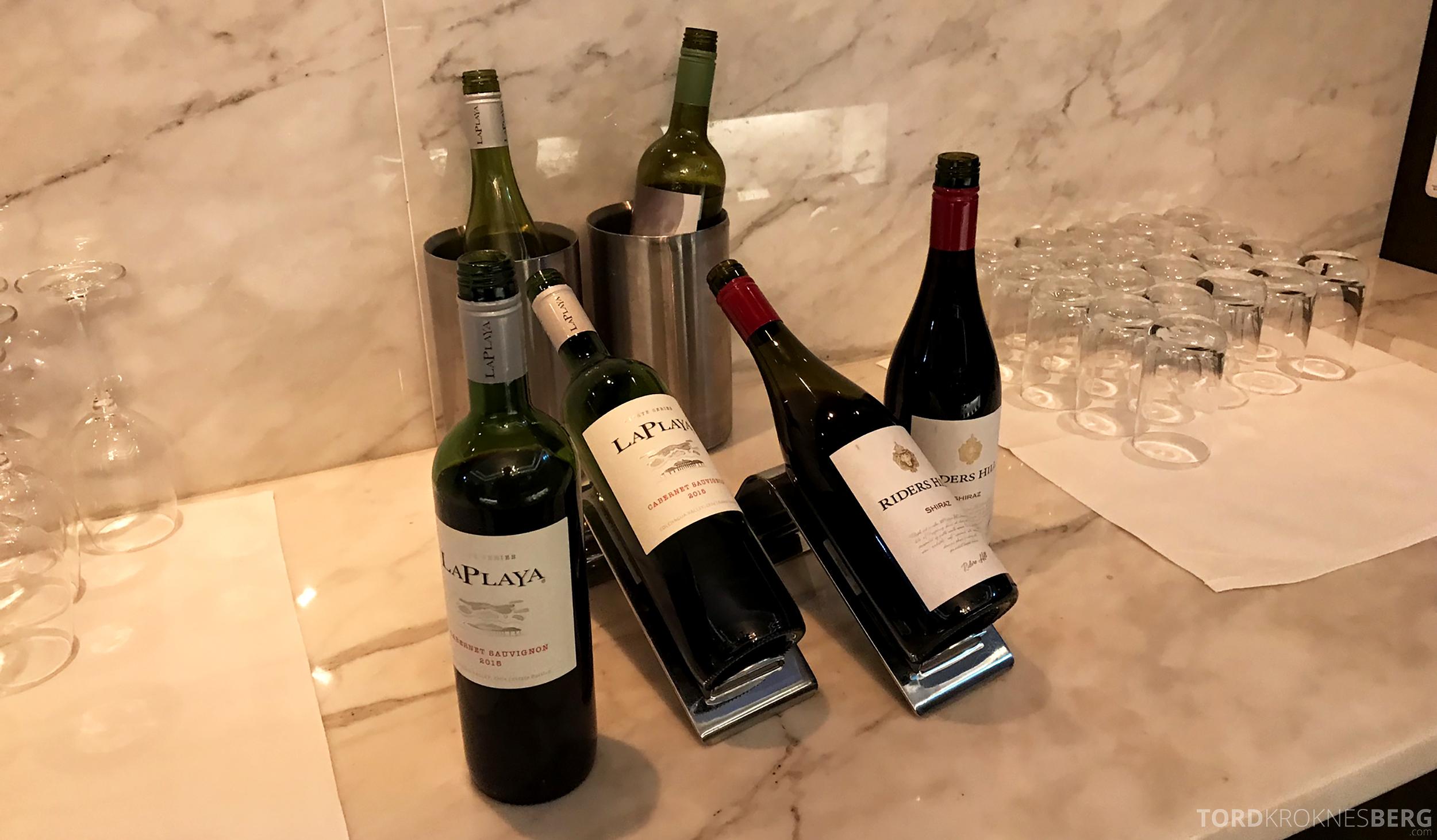 Marriott Copenhagen Hotel Executive Lounge vin