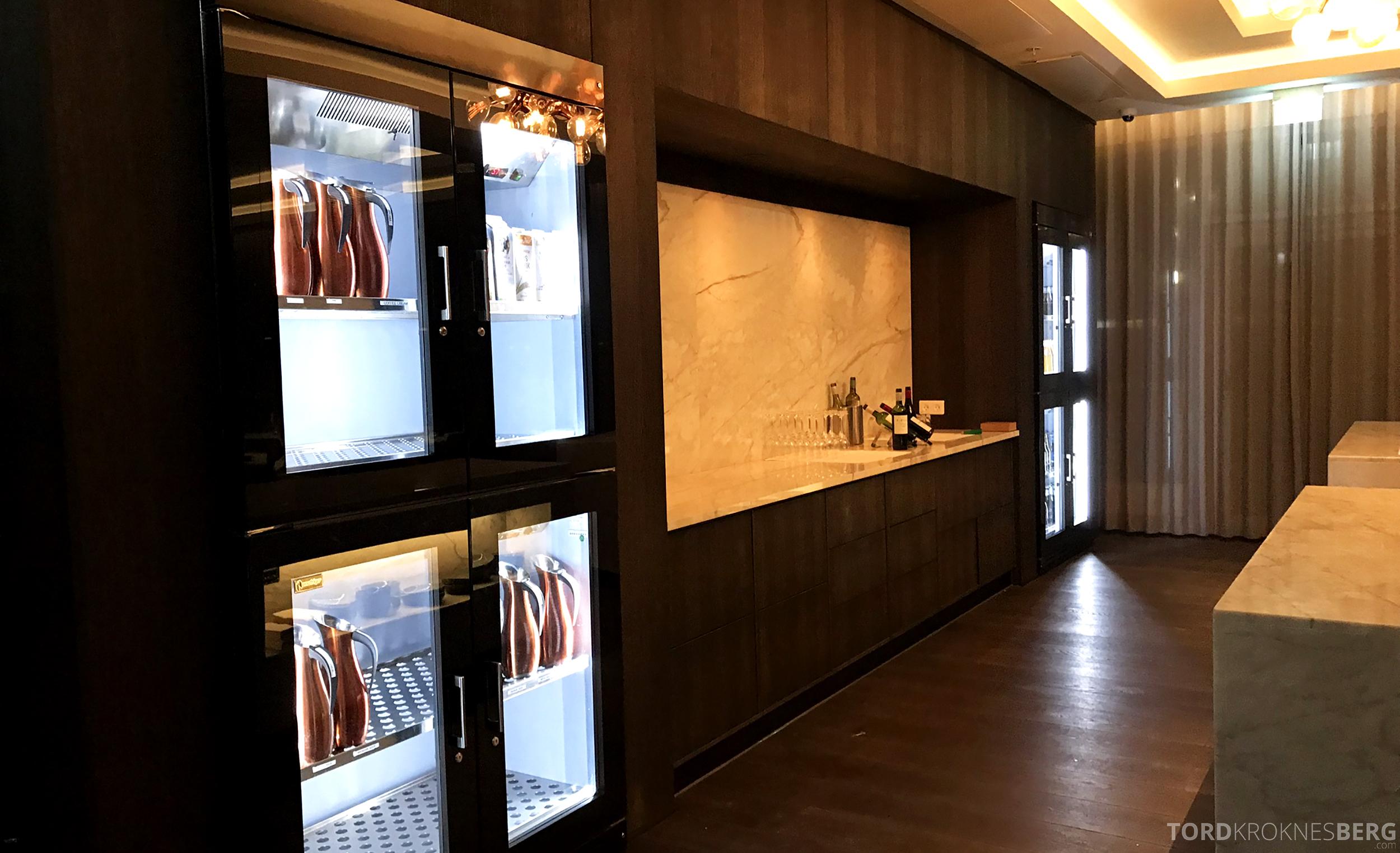Marriott Copenhagen Hotel Executive Lounge tomt