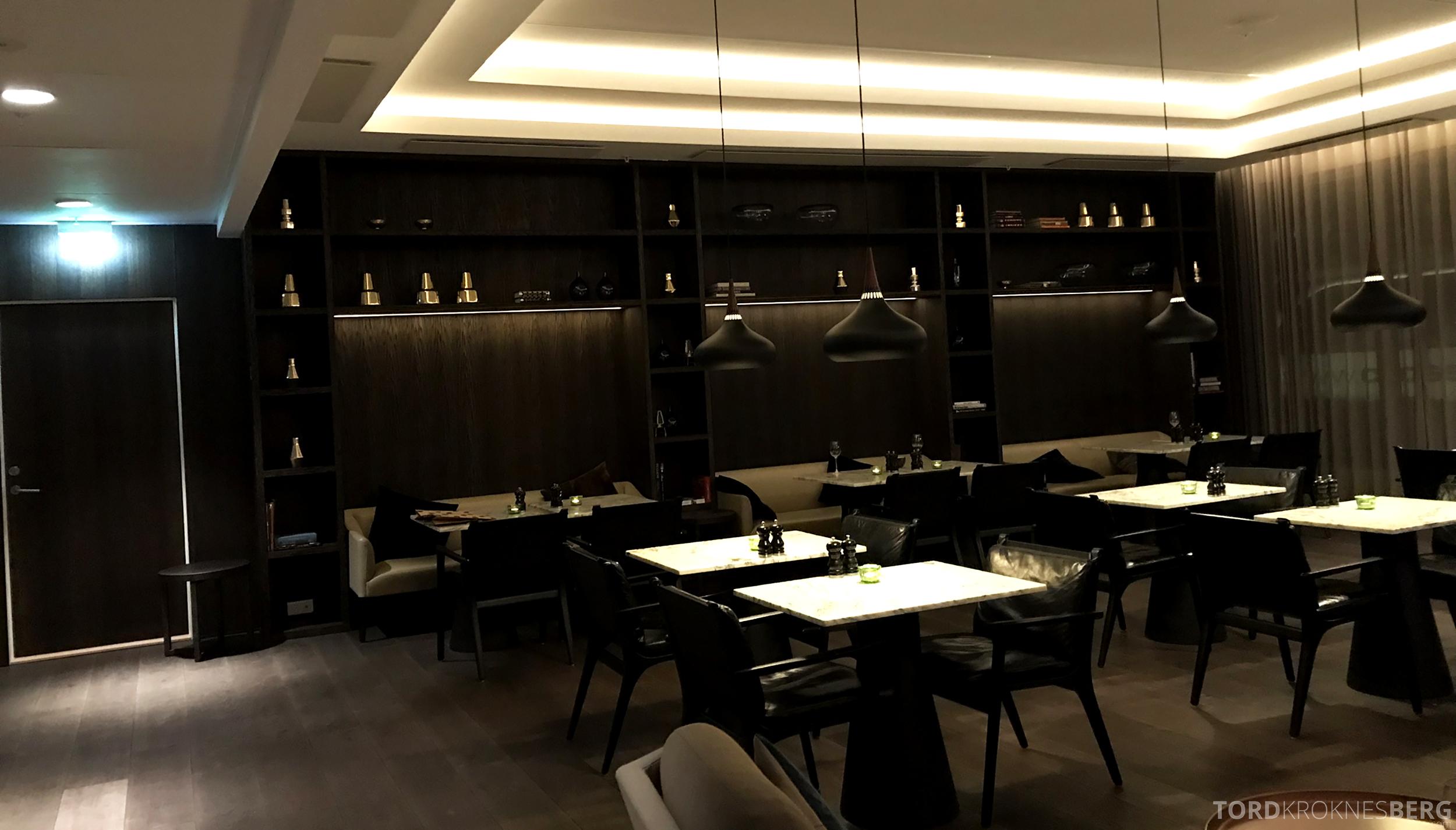 Marriott Copenhagen Hotel Executive Lounge sitteplasser