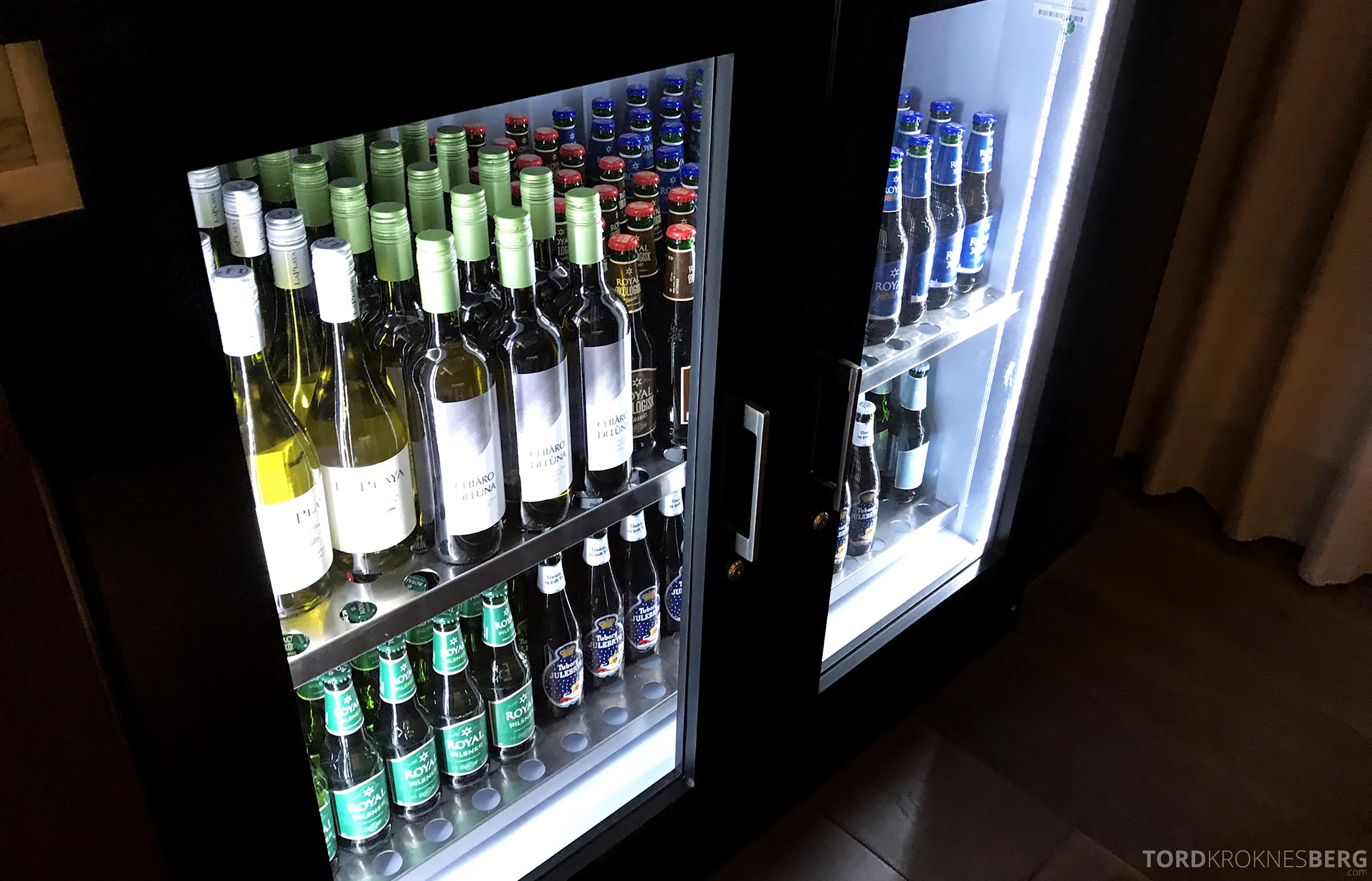 Marriott Copenhagen Hotel Executive Lounge øl og vin