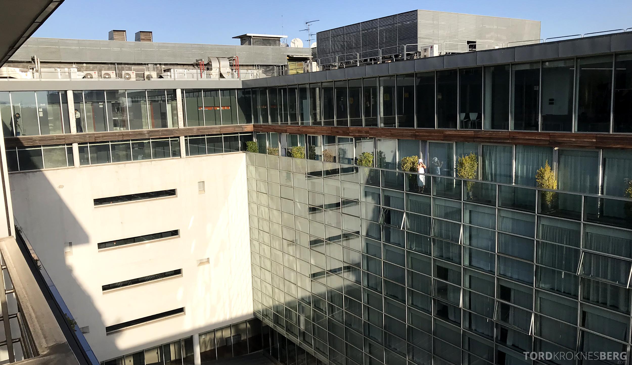 Radisson Blu Rome Hotel fasade