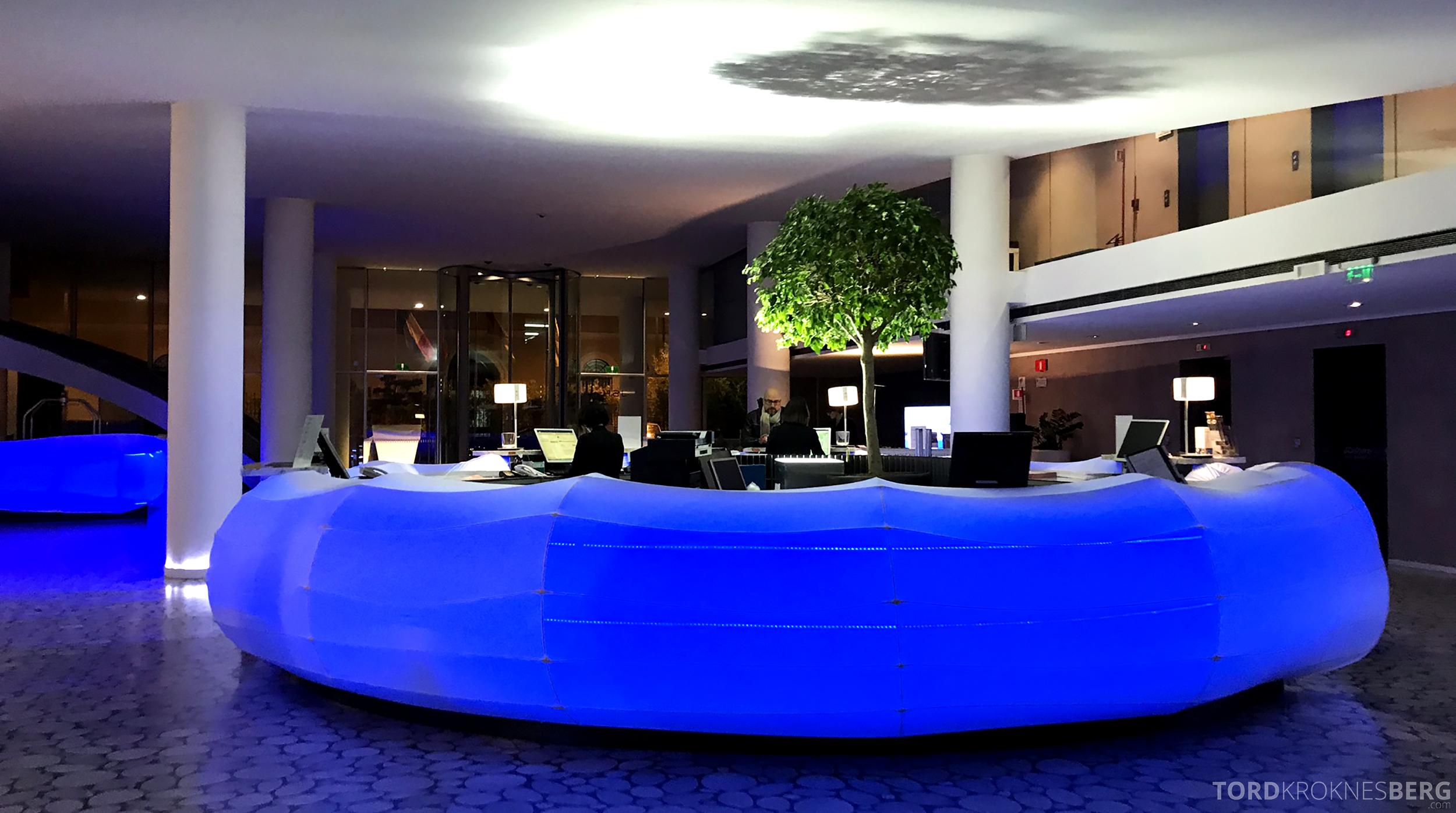 Radisson Blu Rome Hotel resepsjon