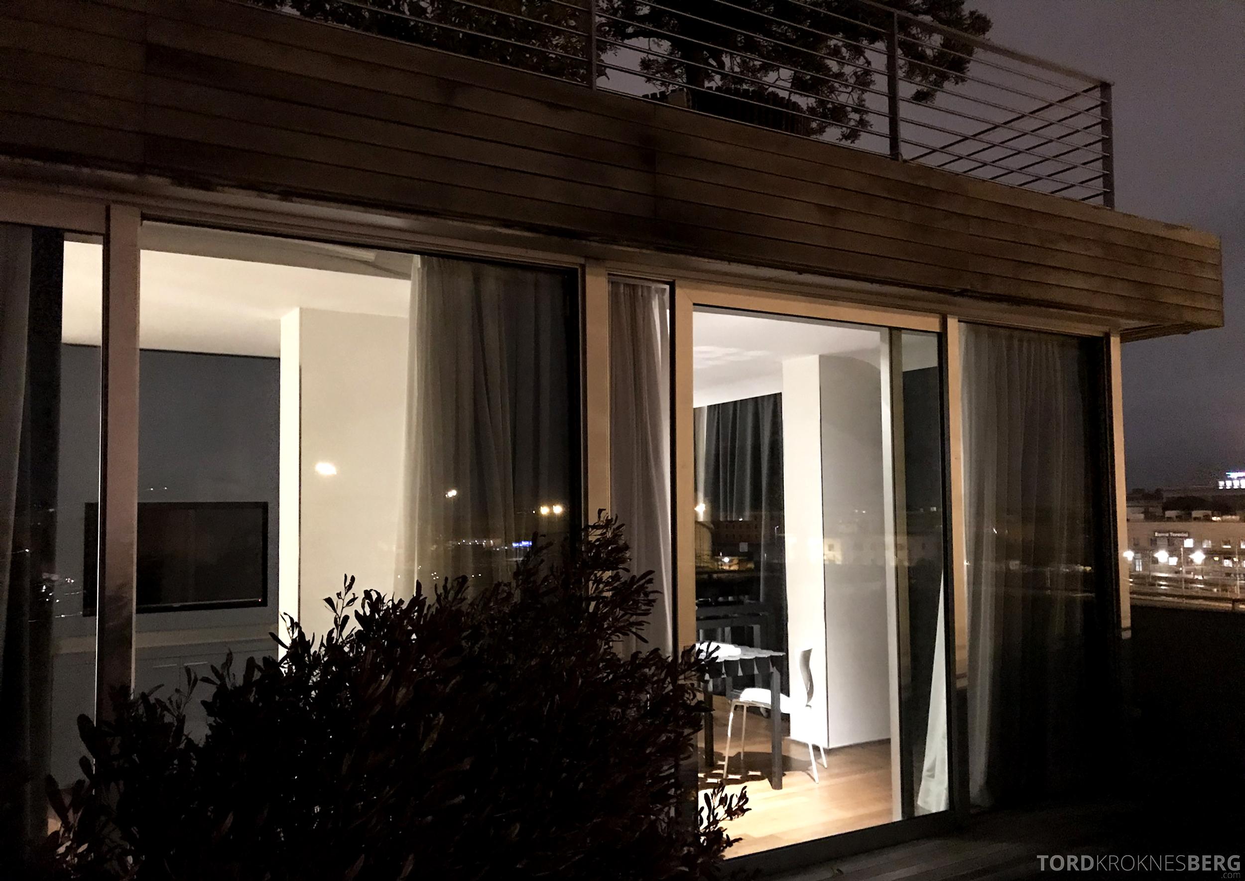 Radisson Blu Rome Hotel suite terrasse