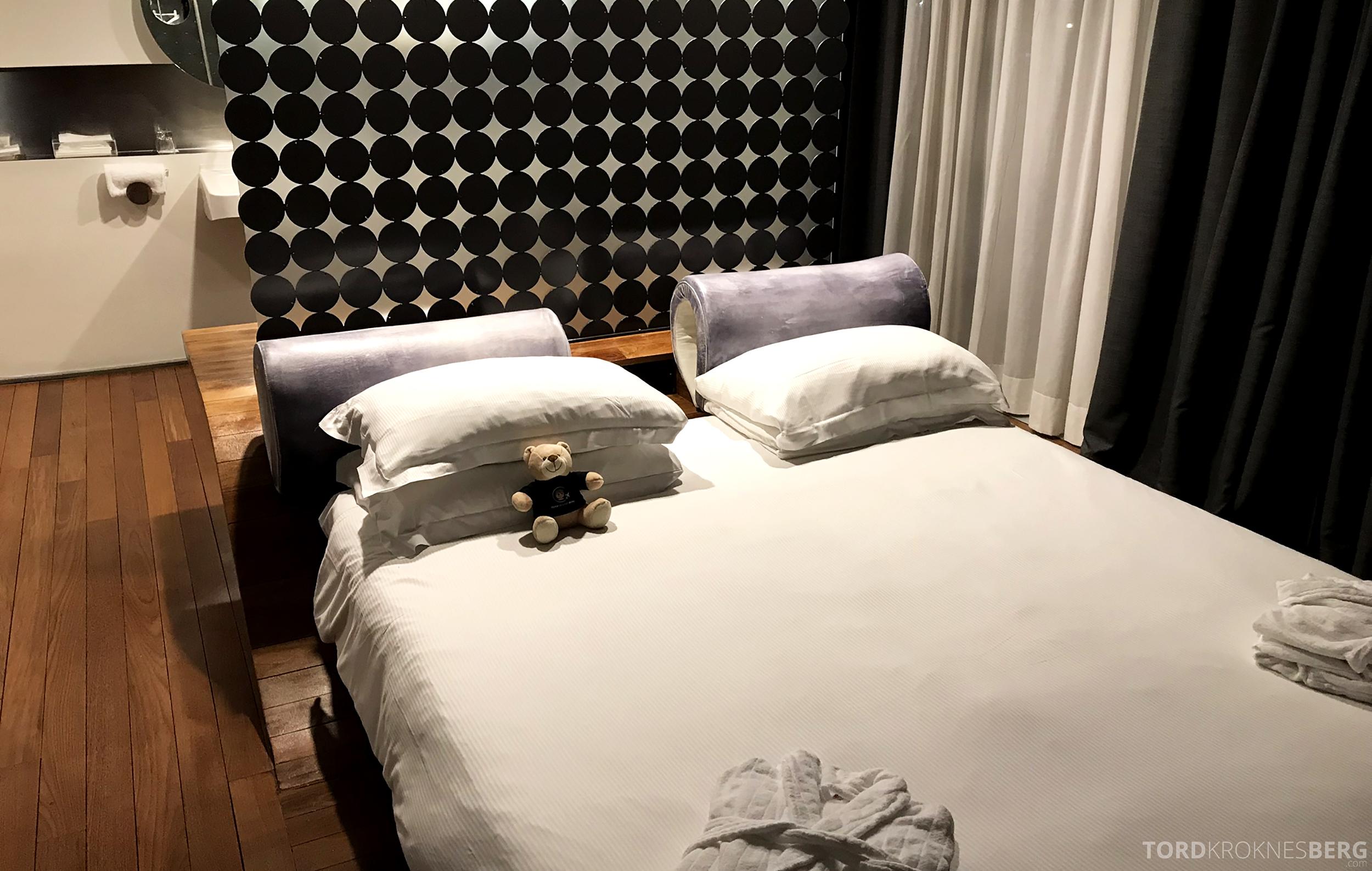 Radisson Blu Rome Hotel reisefølget seng