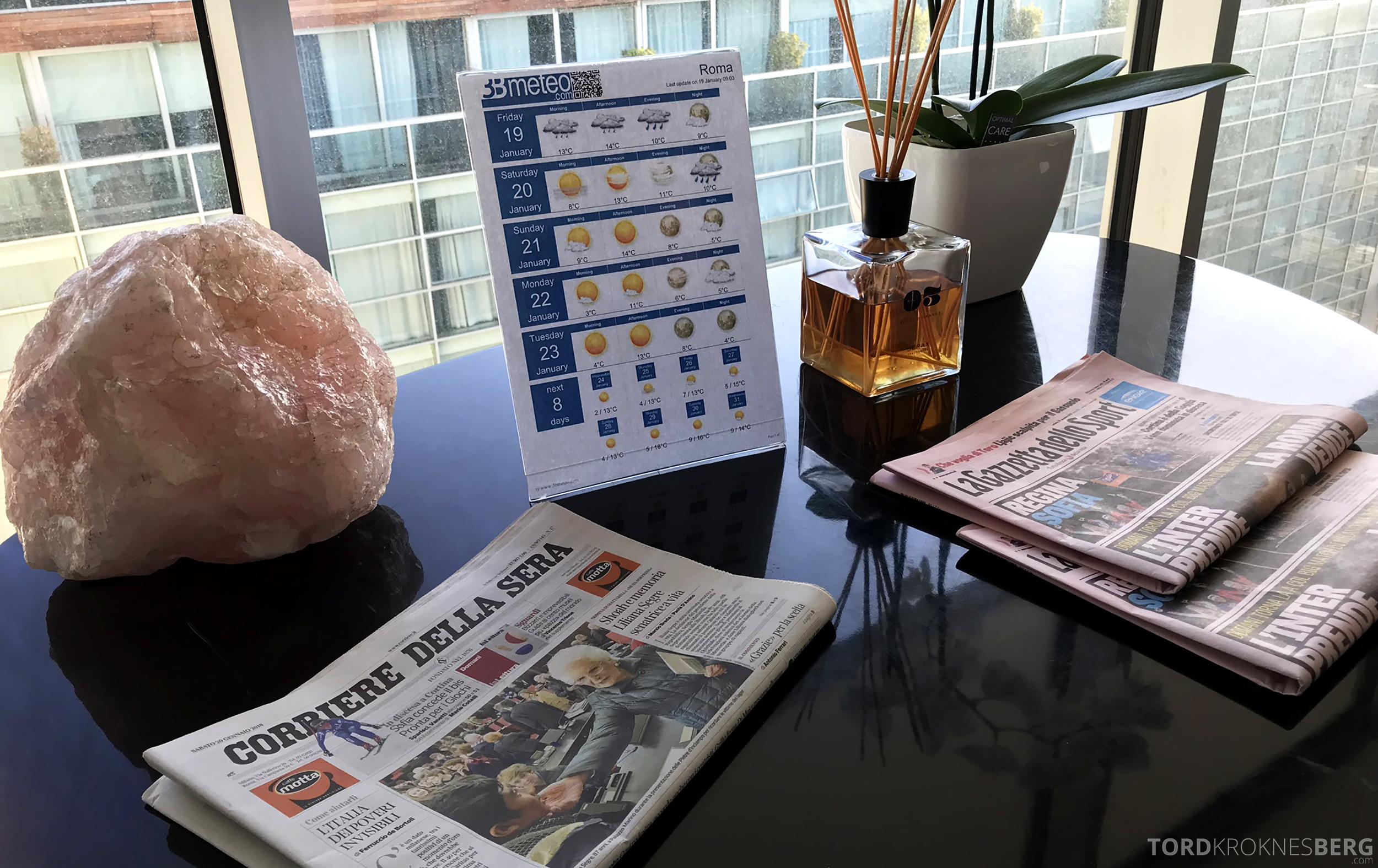 Radisson Blu Rome Hotel frokost aviser