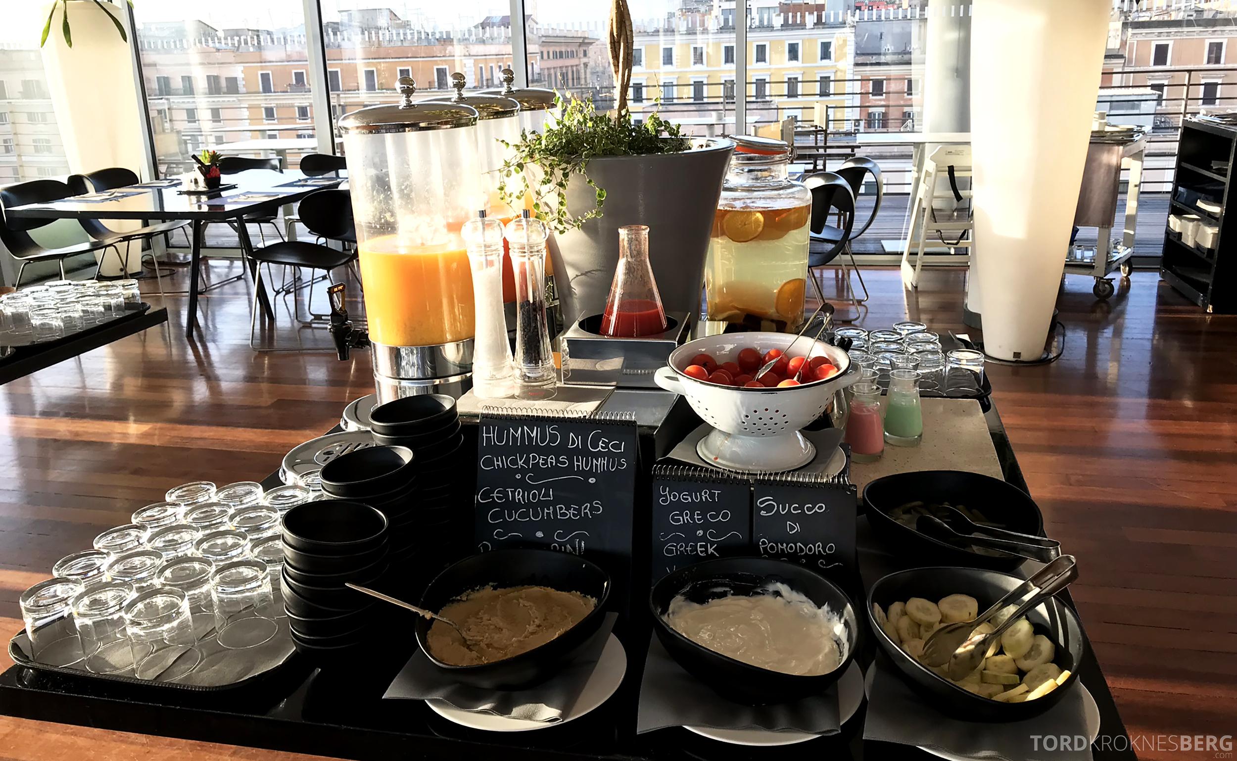 Radisson Blu Rome Hotel frokost buffet