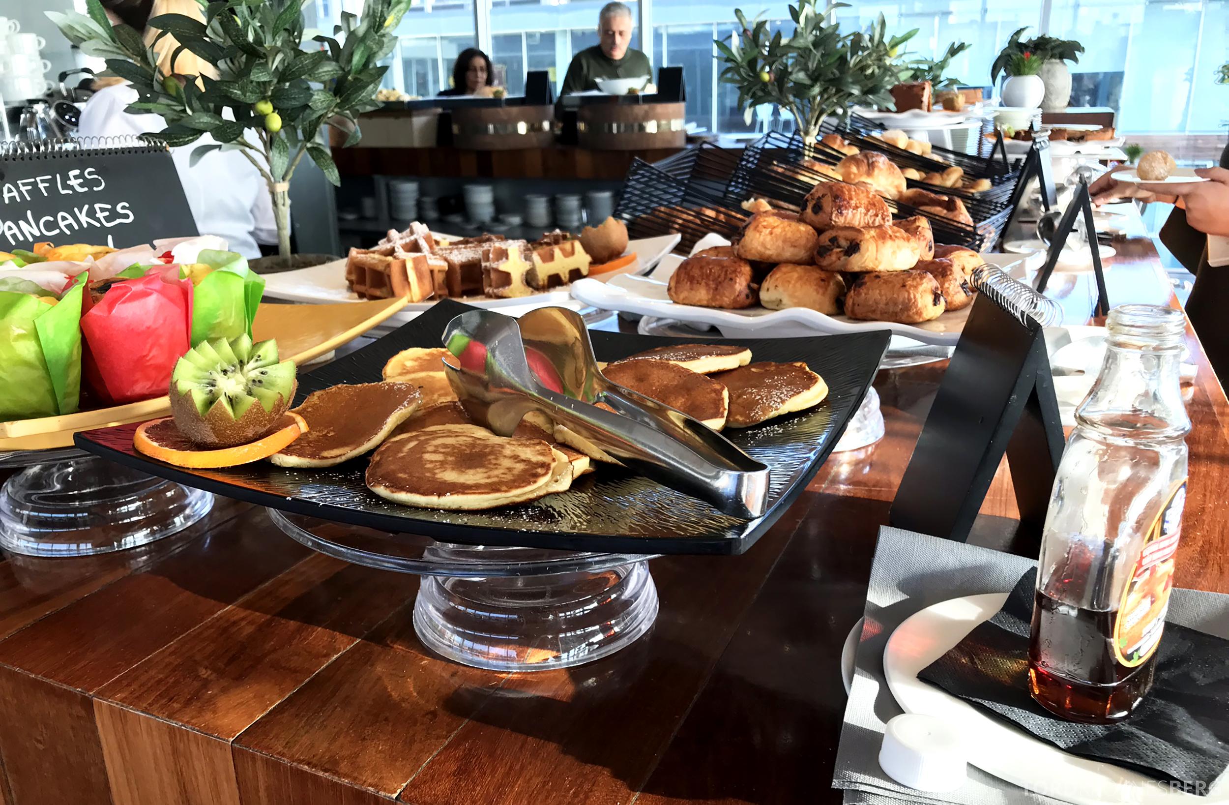 Radisson Blu Rome Hotel frokostbuffet