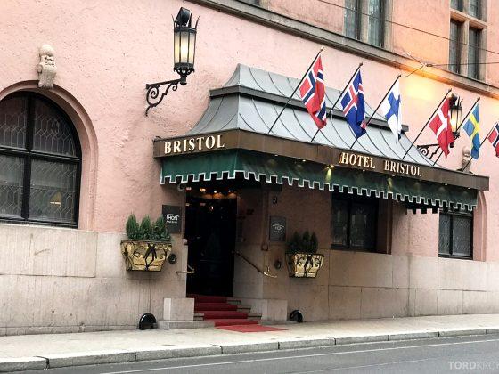 Thon Hotel Bristol Oslo hovedinngang
