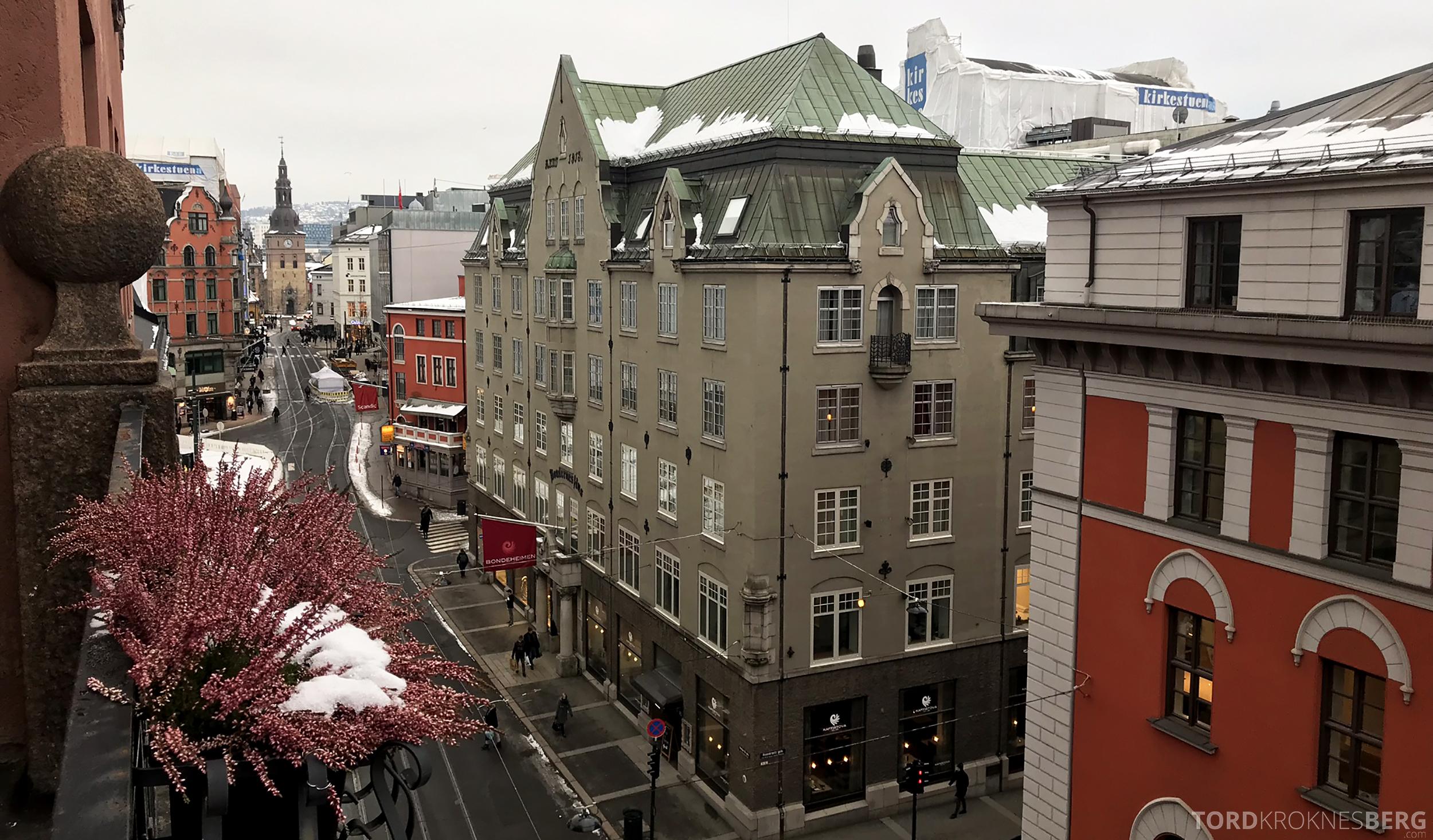 Thon Hotel Bristol Oslo utsikt
