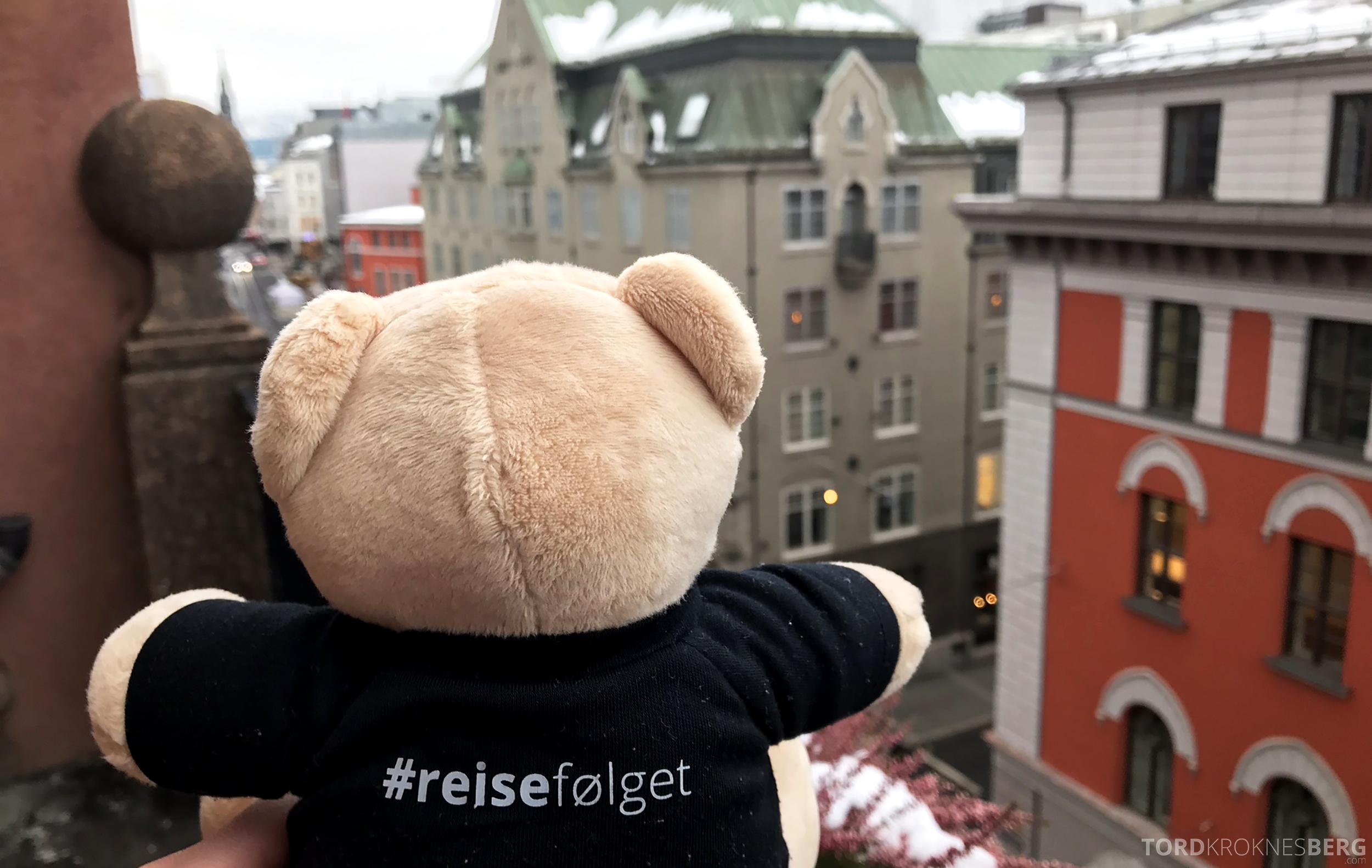 Thon Hotel Bristol Oslo reisefølget utsikt