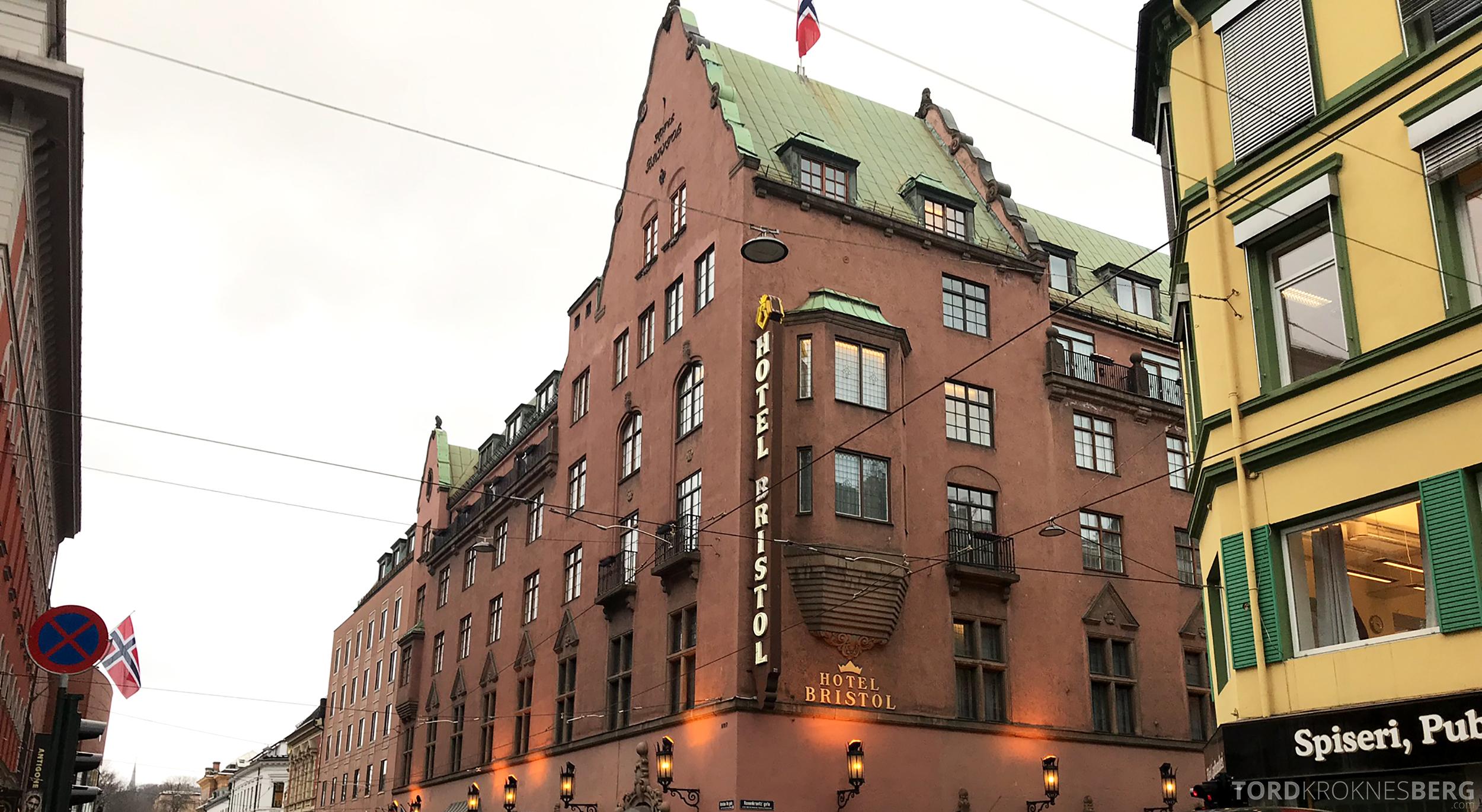 Thon Hotel Bristol Oslo fasade
