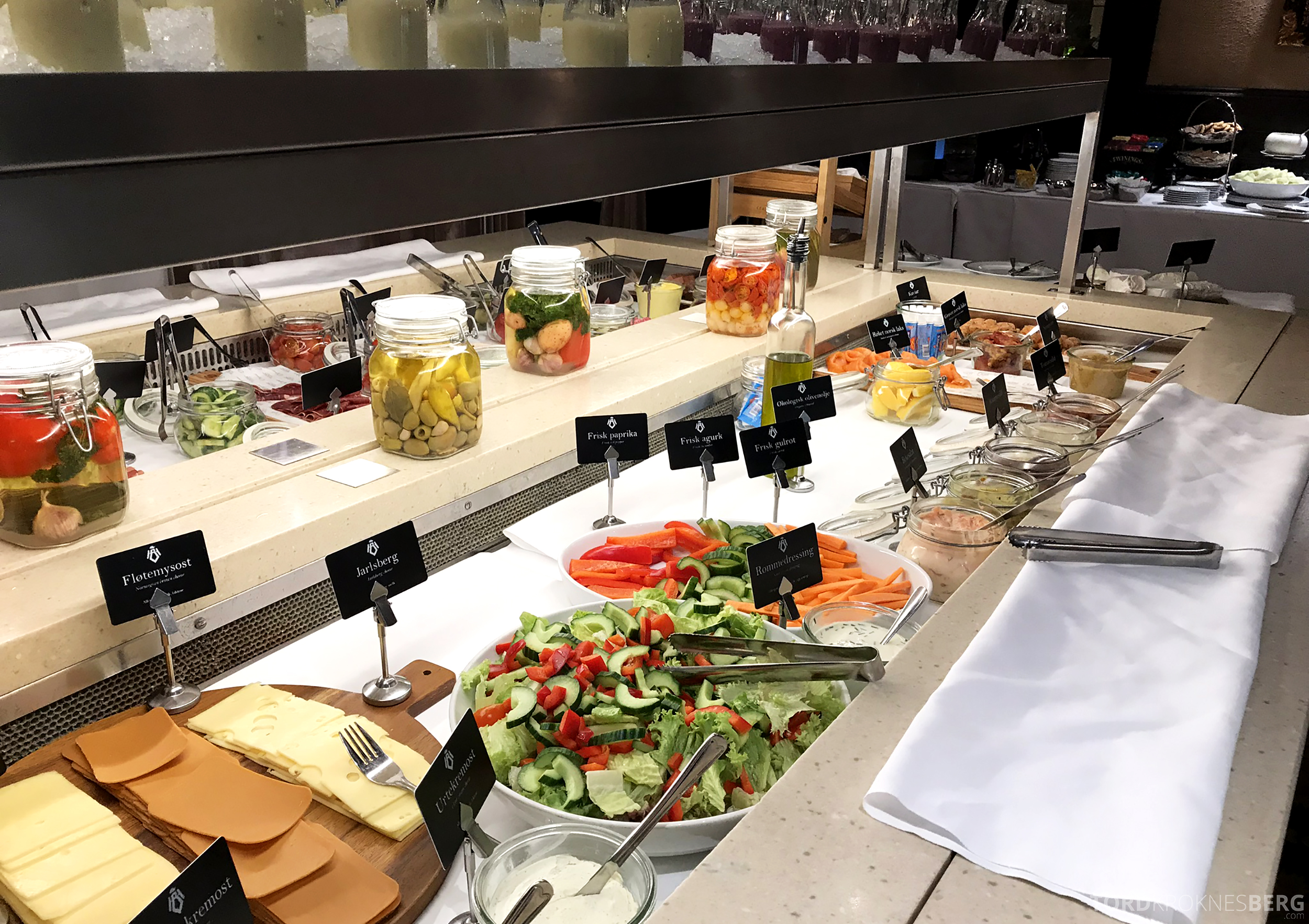 Thon Hotel Bristol Oslo frokost buffet