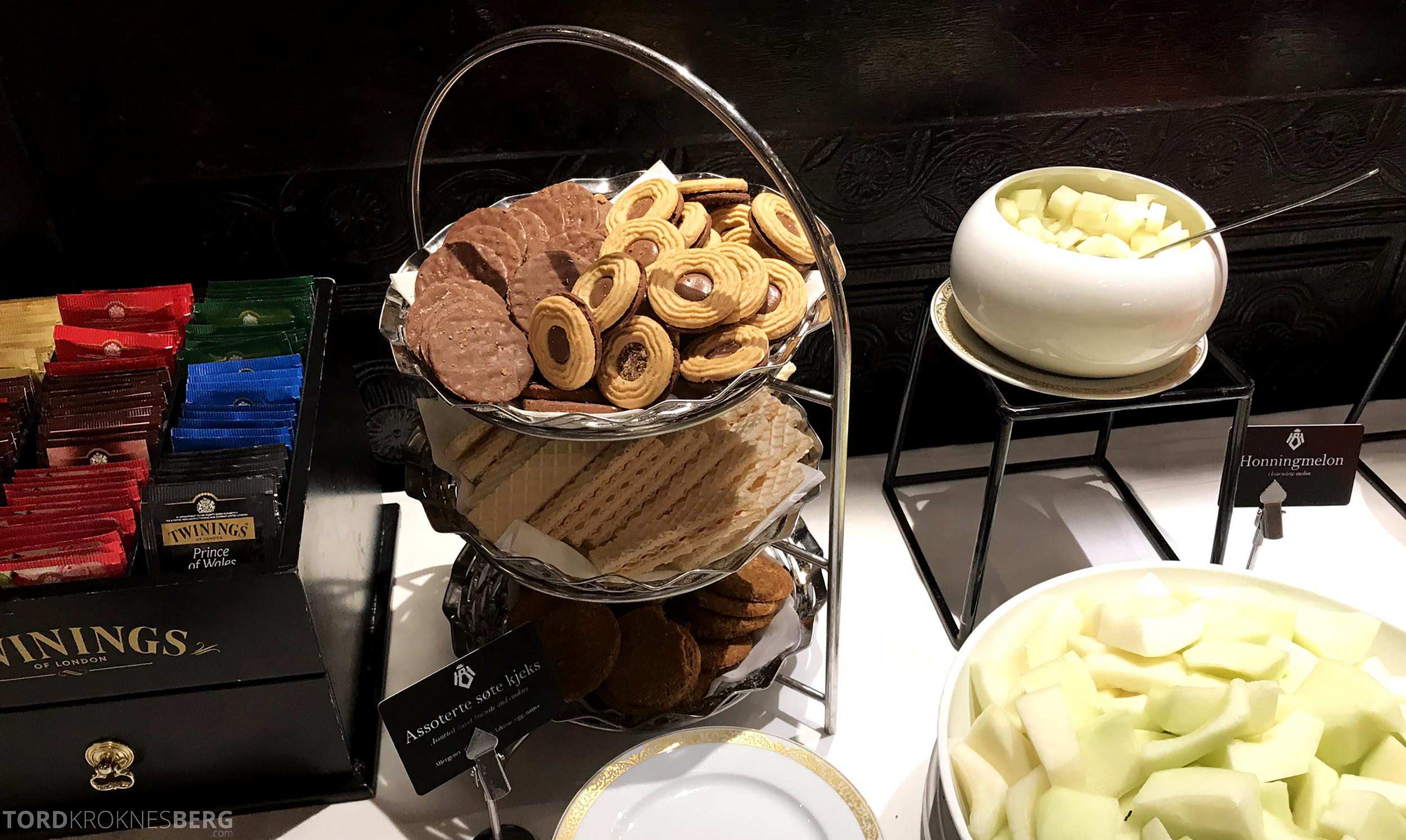 Thon Hotel Bristol Oslo frokost kjeks