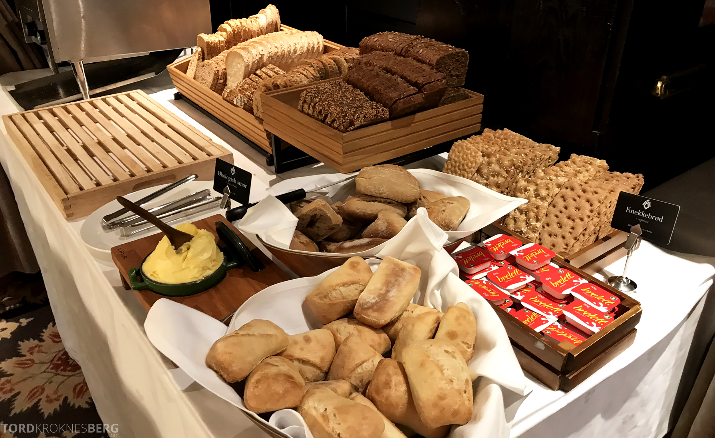 Thon Hotel Bristol Oslo frokost brød