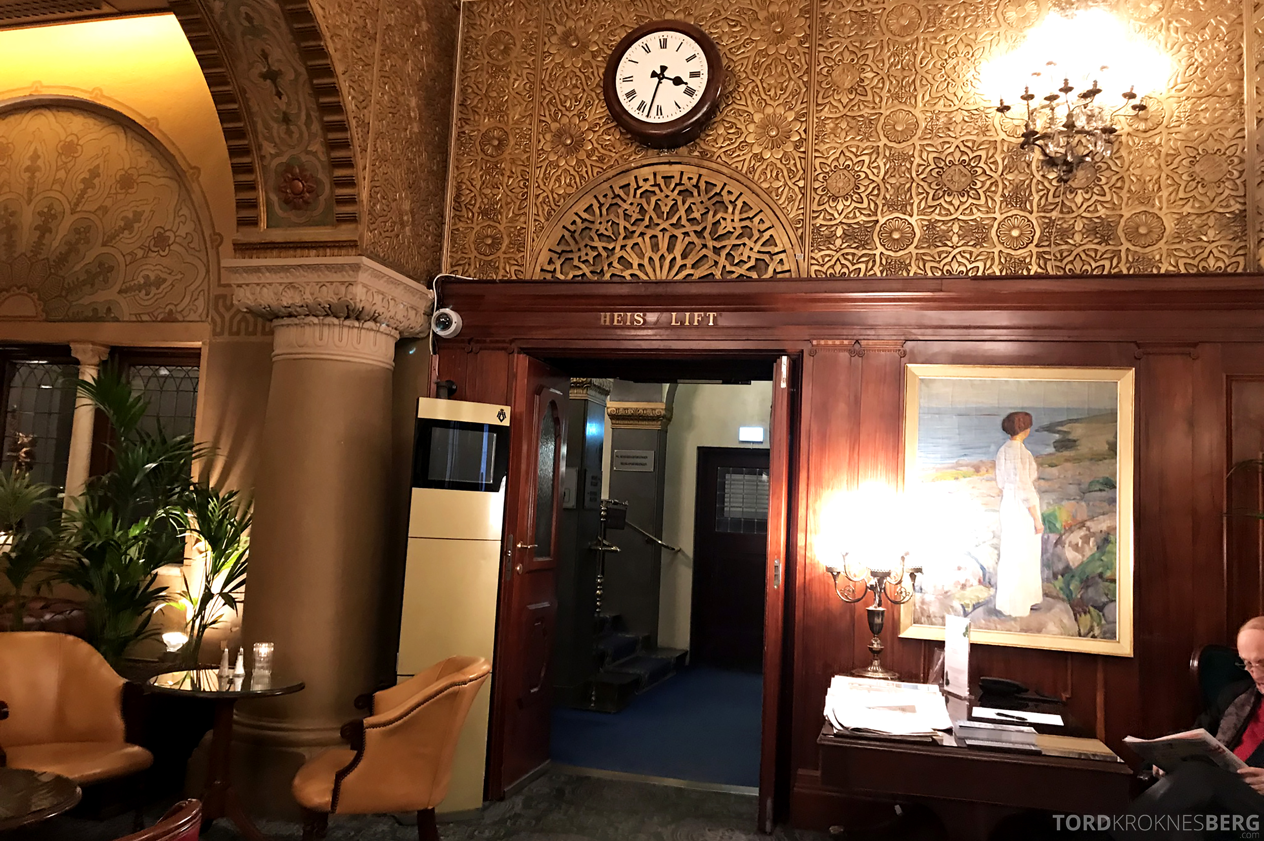 Thon Hotel Bristol Oslo lobby