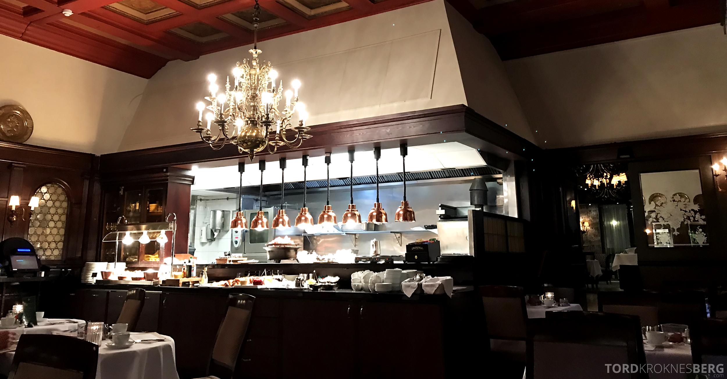 Thon Hotel Bristol Oslo frokost varmmat