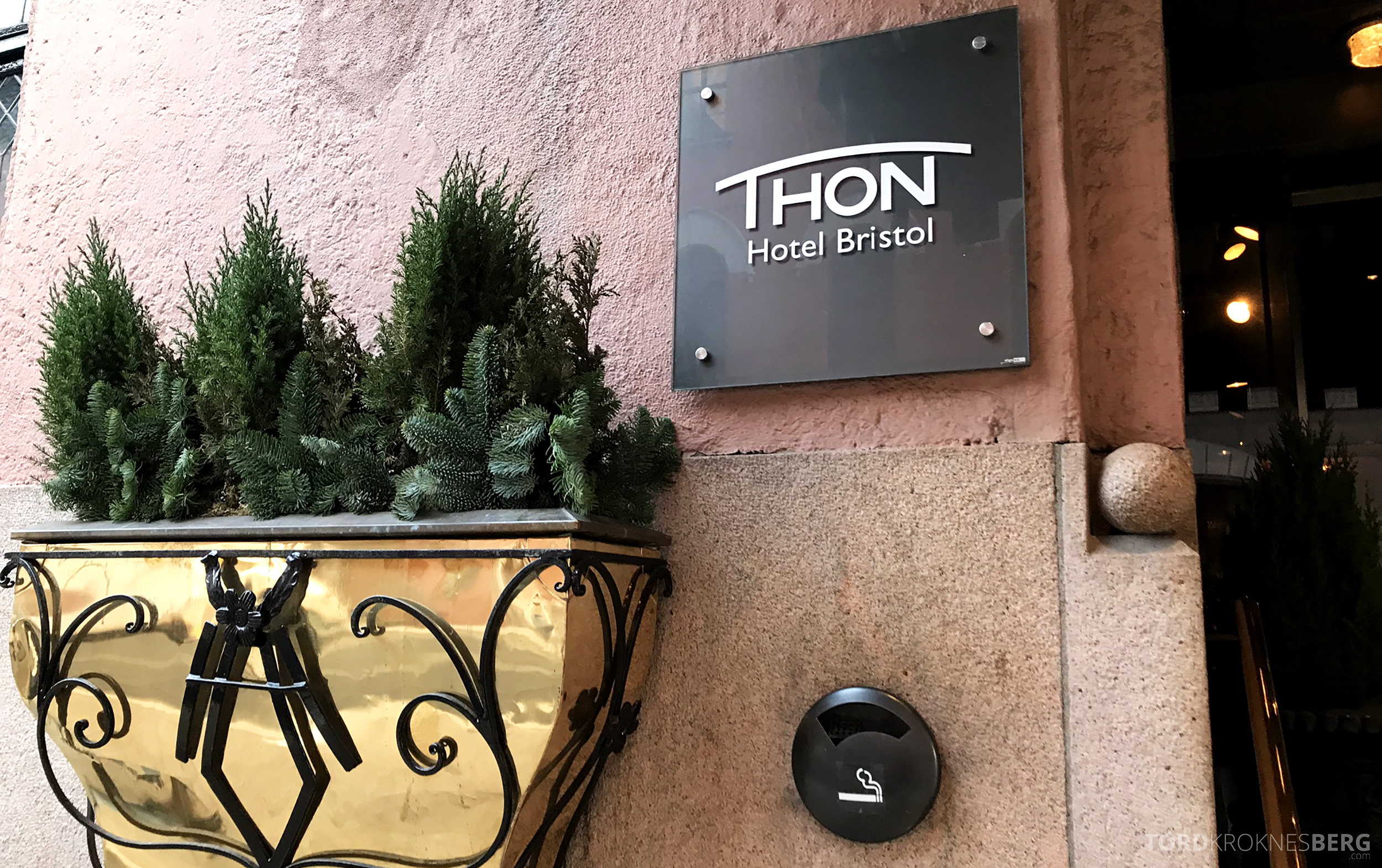Thon Hotel Bristol Oslo inngang