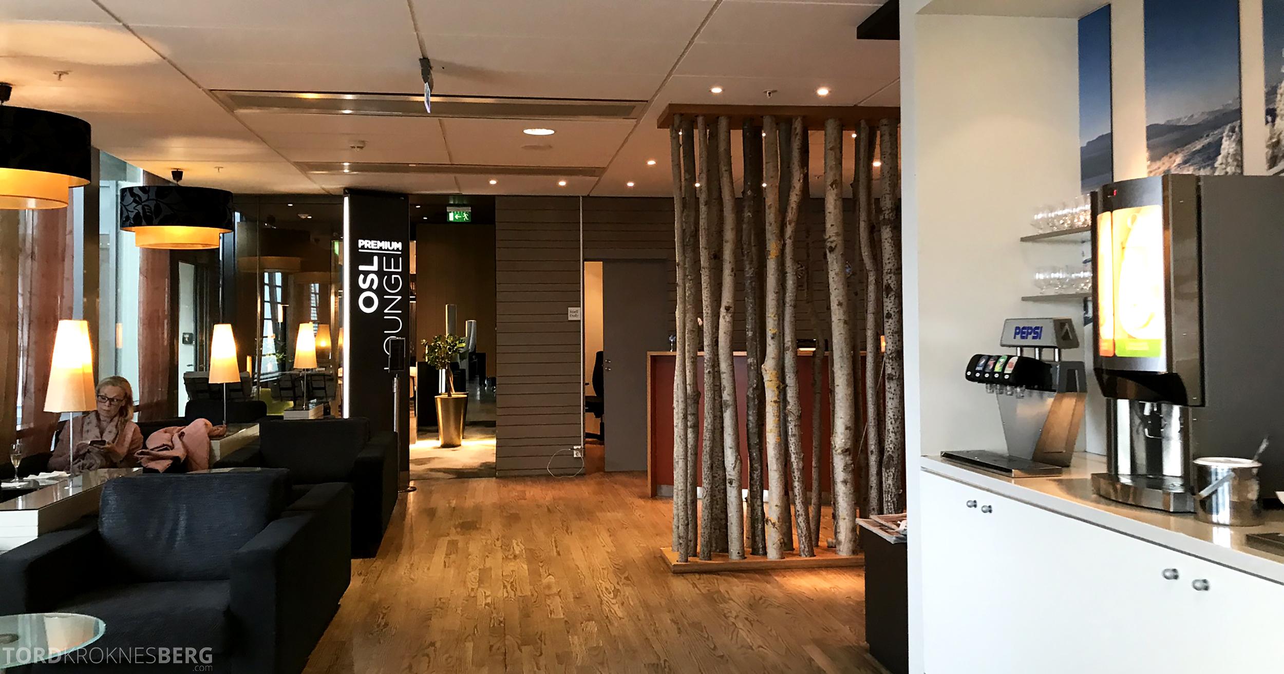 OSL Lounge Gardermoen premium inngang