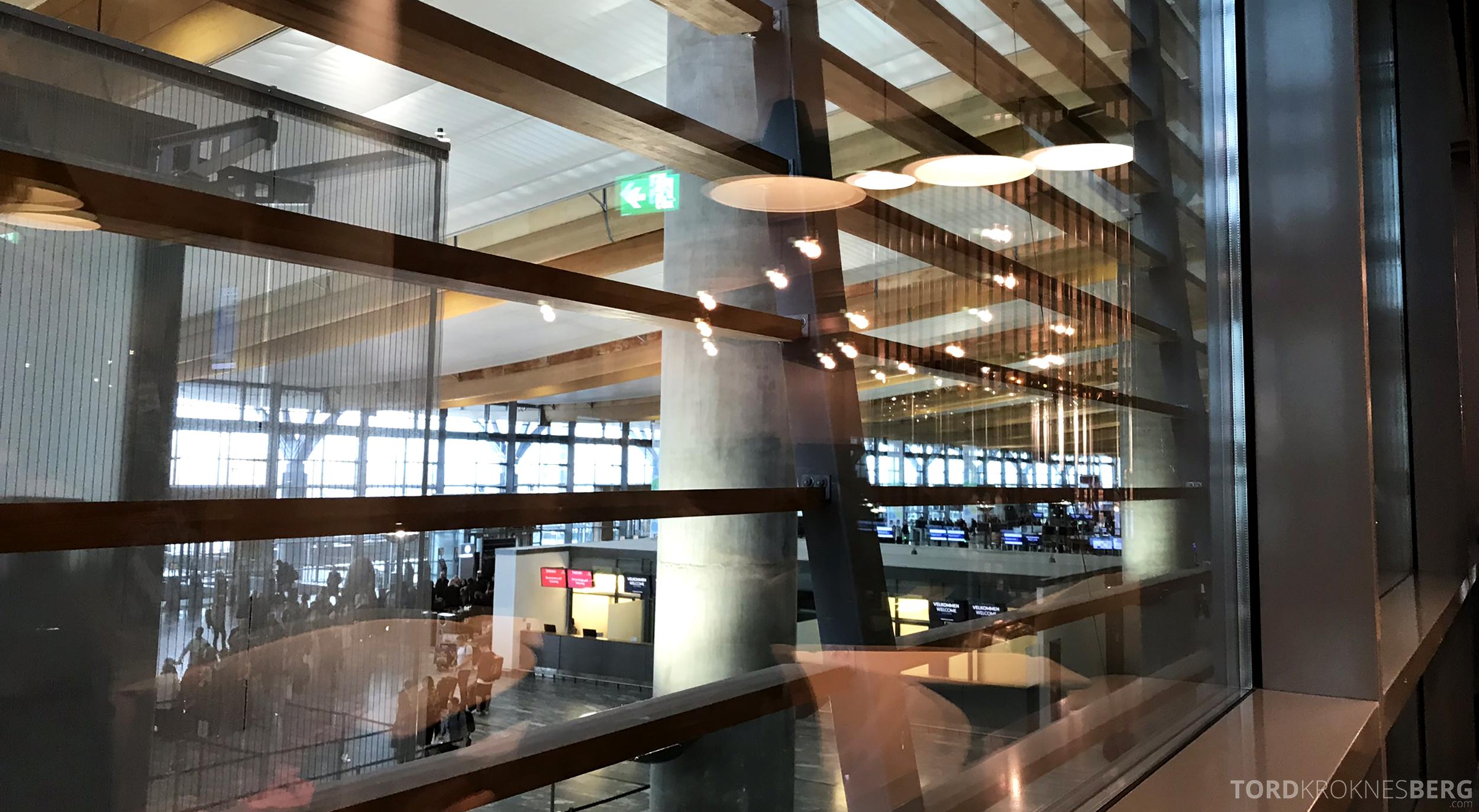 OSL Lounge Gardermoen utsikt