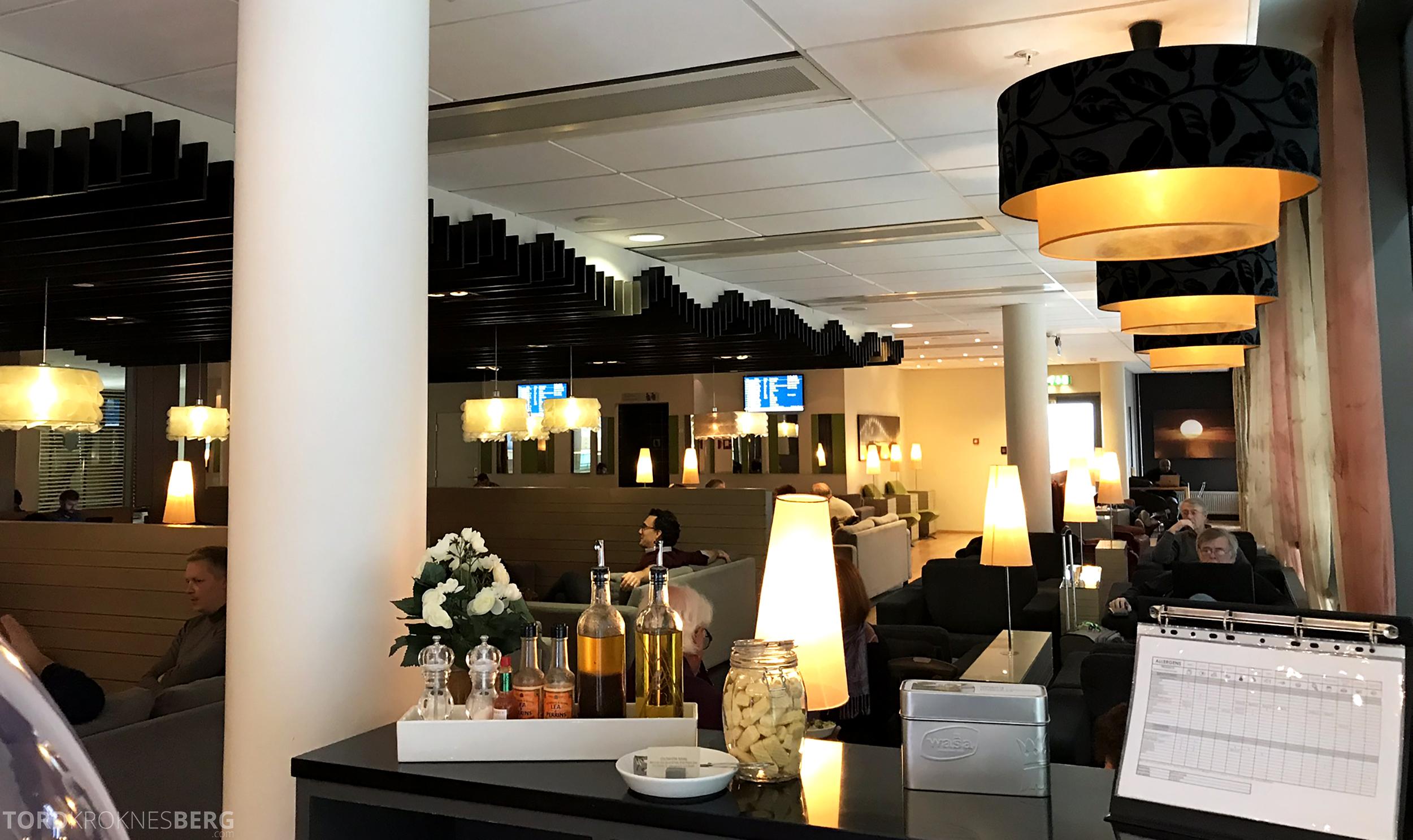OSL Lounge Gardermoen oversikt