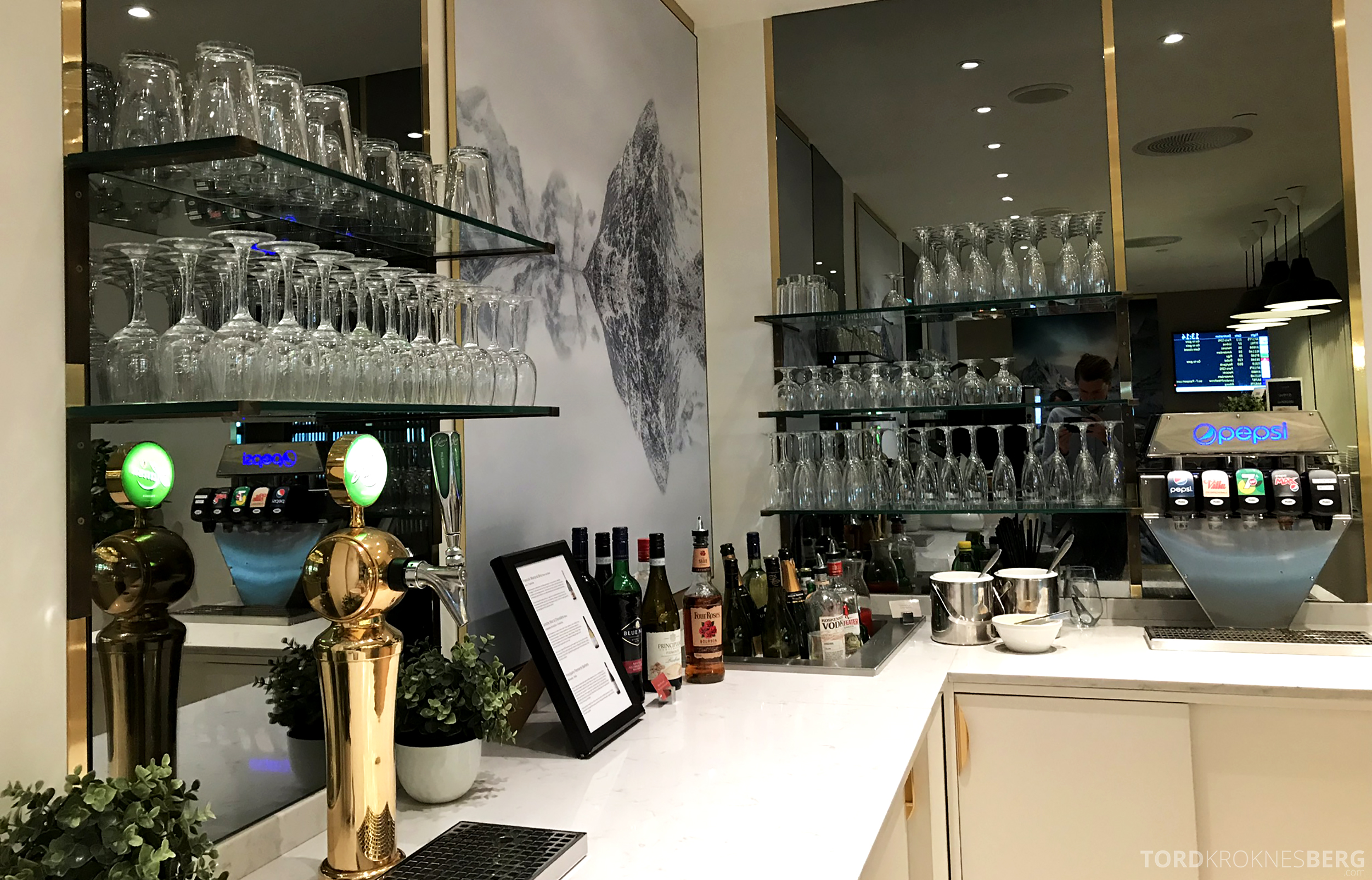 OSL Lounge Gardermoen bar