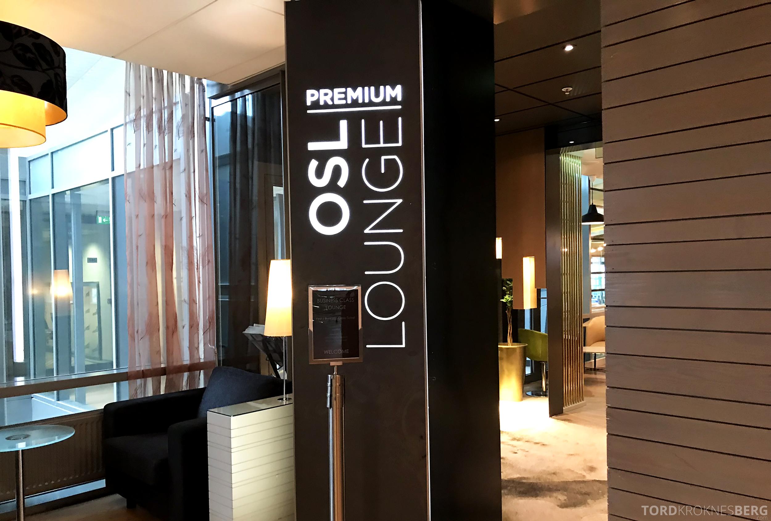 OSL Lounge Gardermoen premium