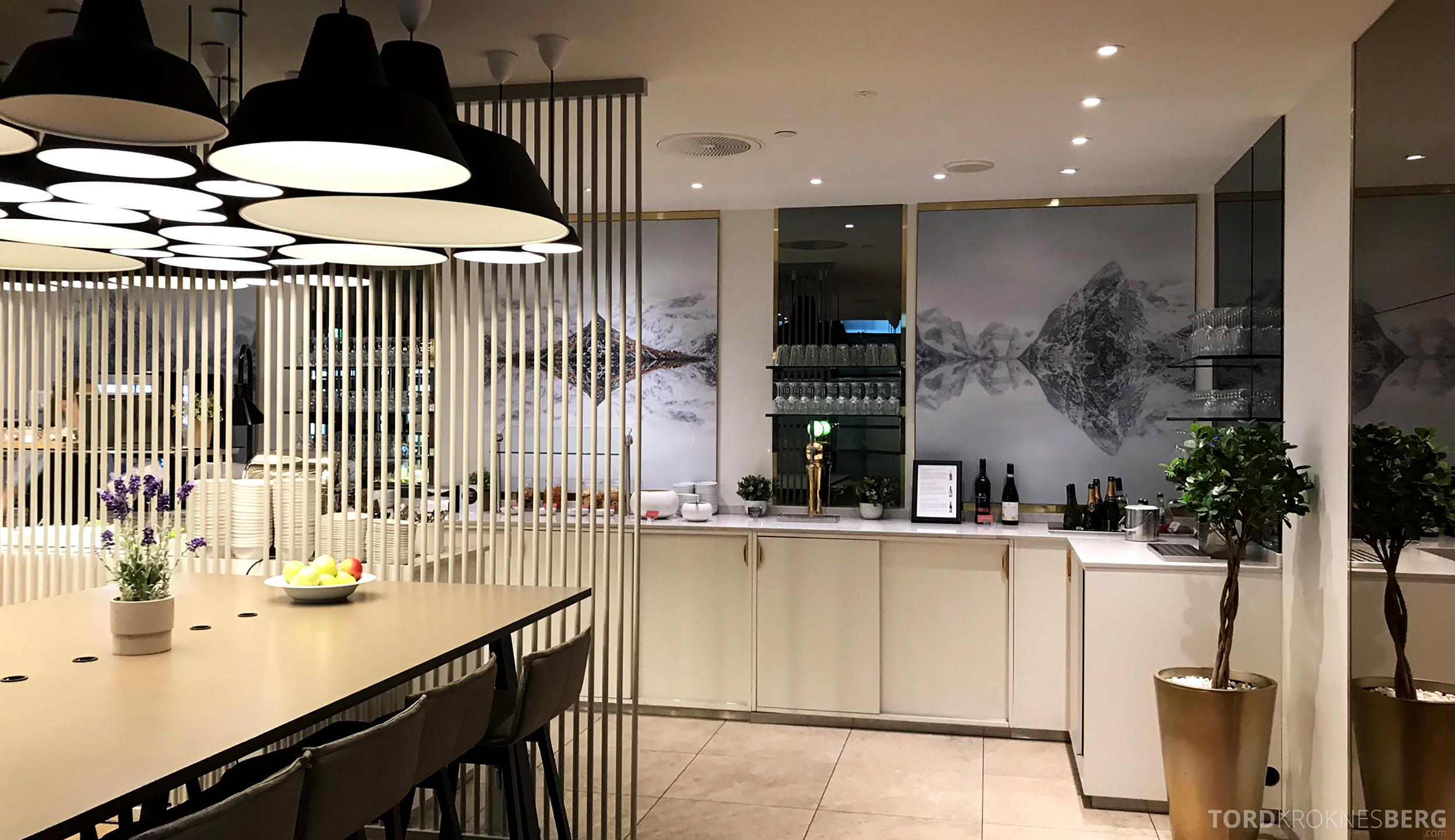OSL Lounge Gardermoen premium buffet