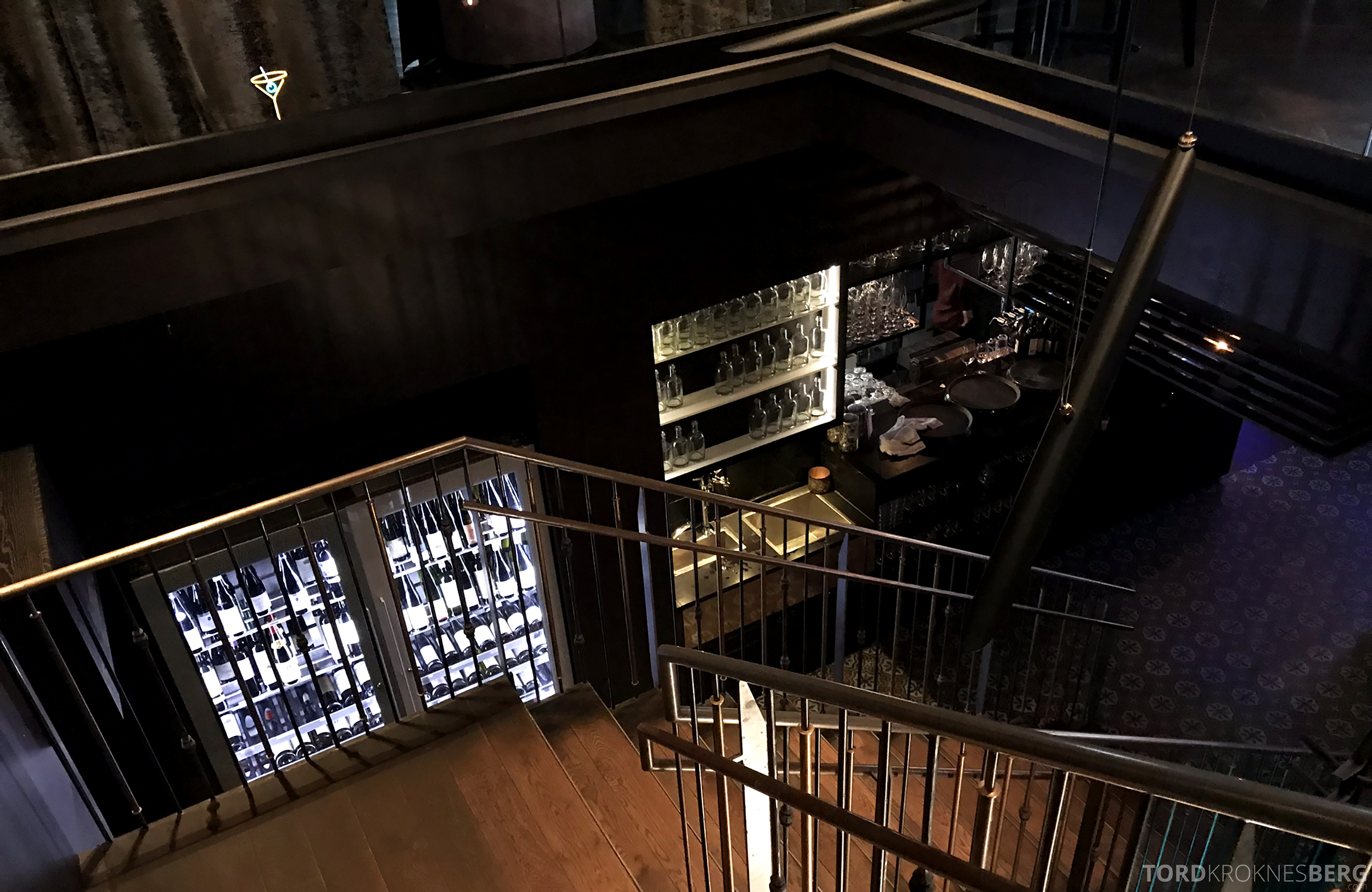 Restaurant Asia Aker Brygge Oslo trapp