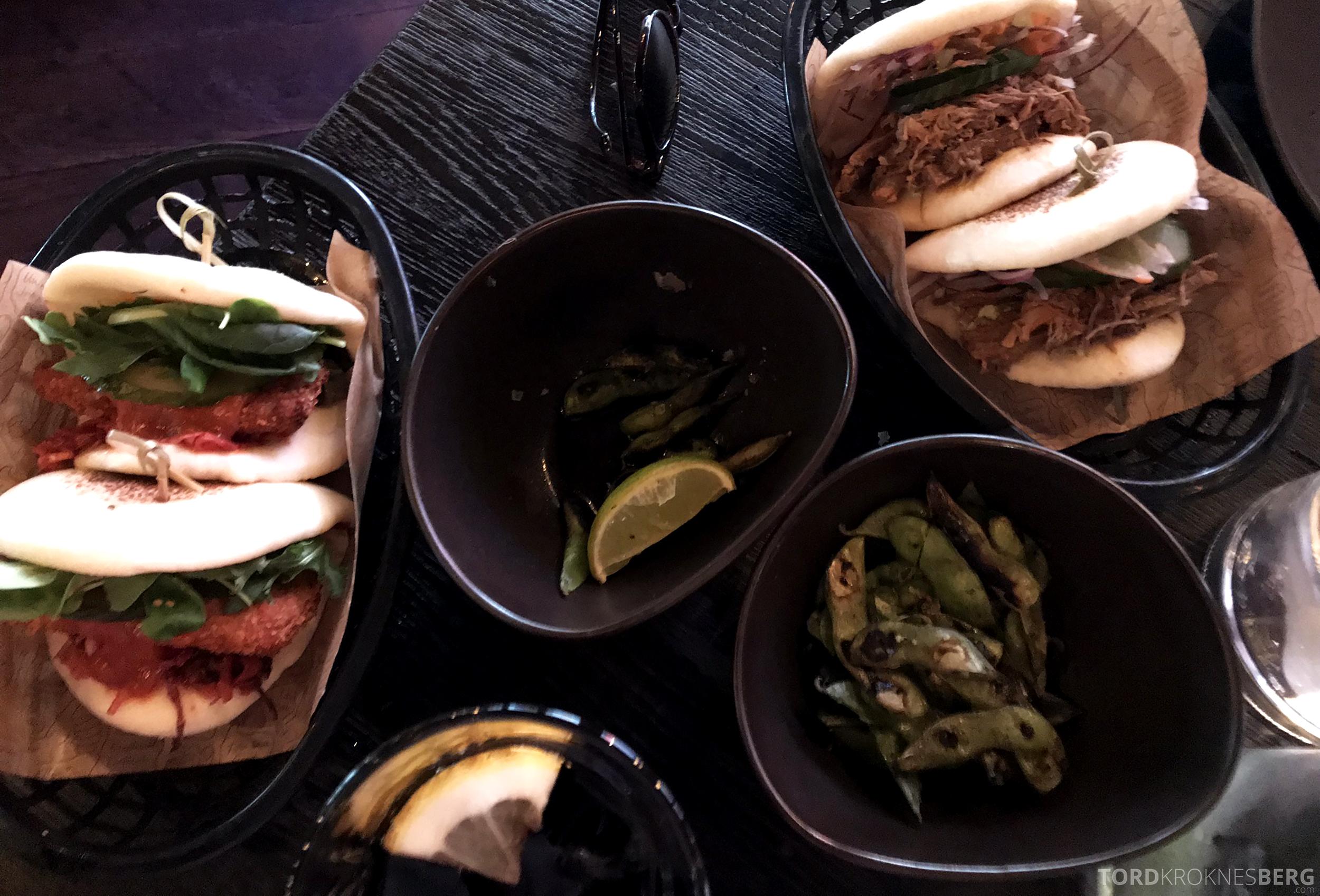 Restaurant Asia Aker Brygge Oslo sandwich
