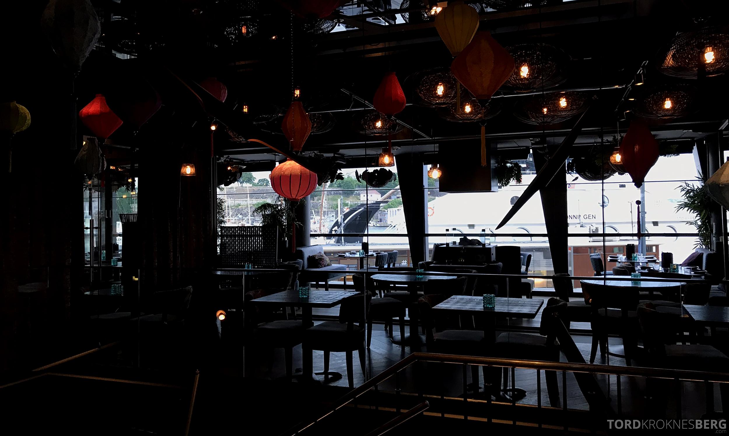Restaurant Asia Aker Brygge Oslo lokale