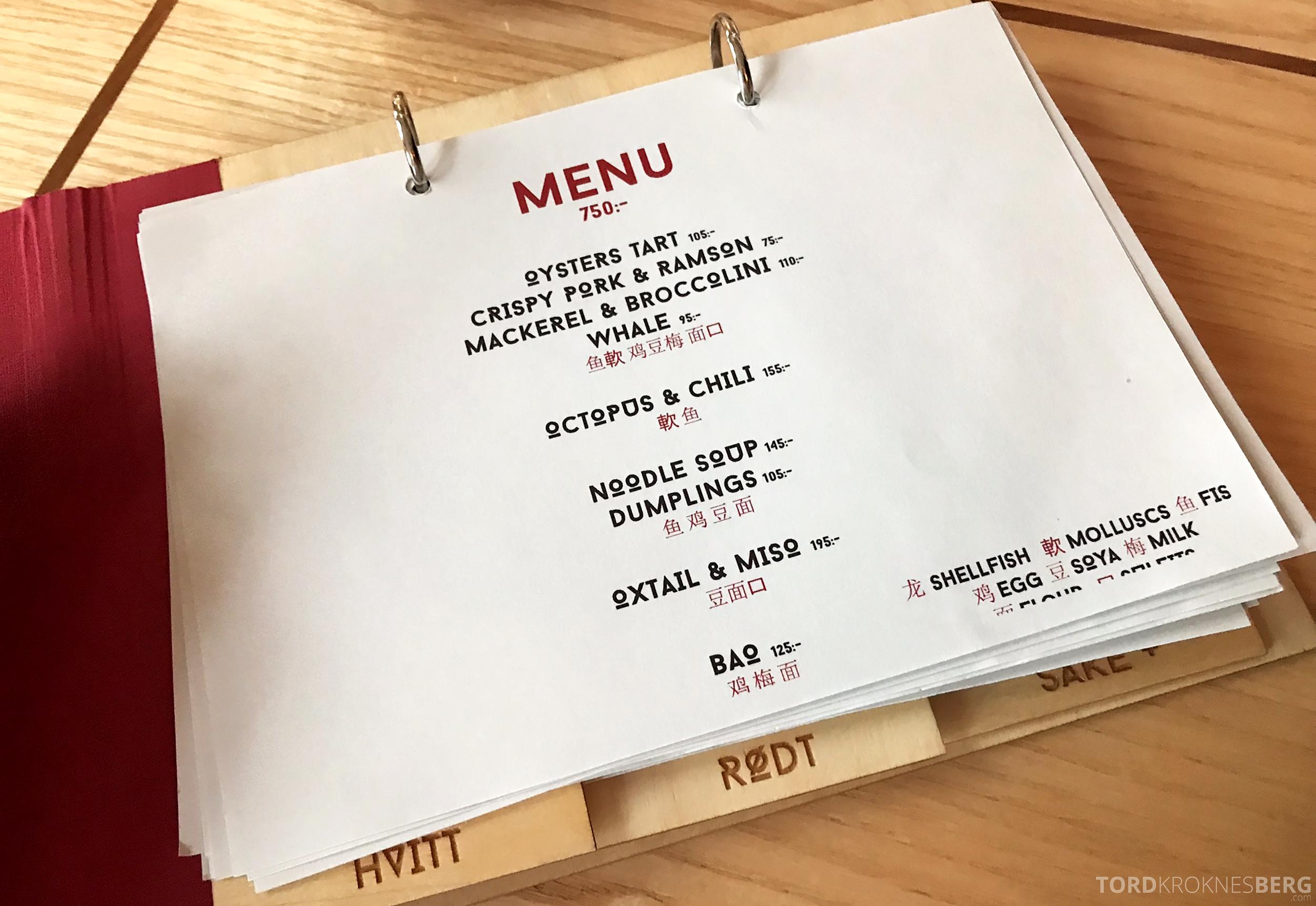 Restaurant Happolati Oslo meny