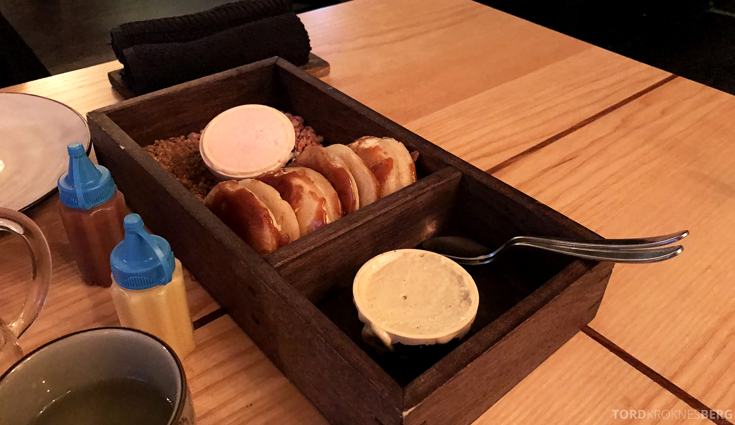 Restaurant Happolati Oslo dessert bao