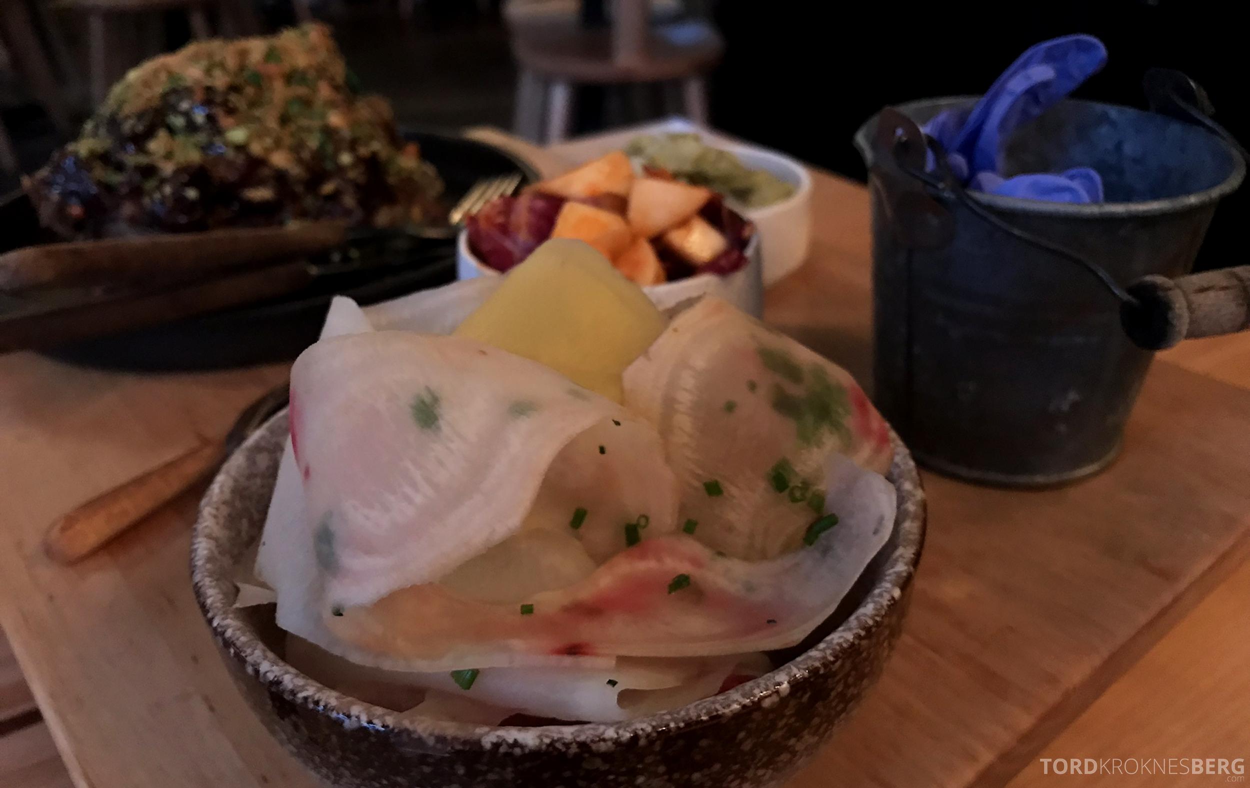 Restaurant Happolati Oslo grønnsaker