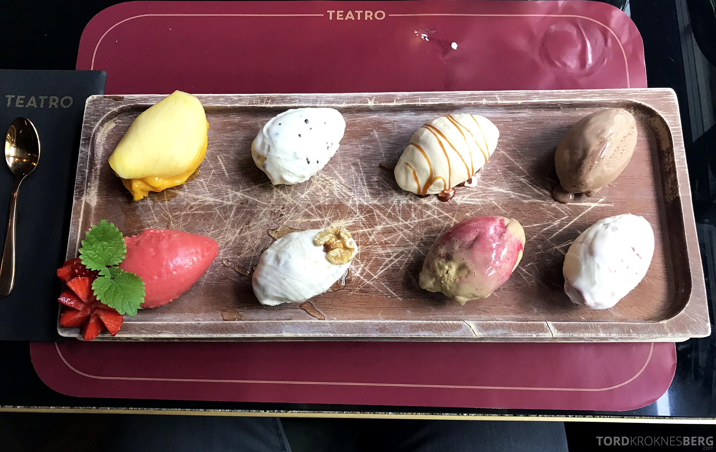 Restaurant Teatro Oslo gelato