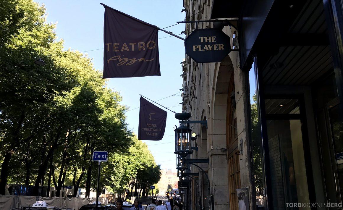 Restaurant Teatro Oslo fasade