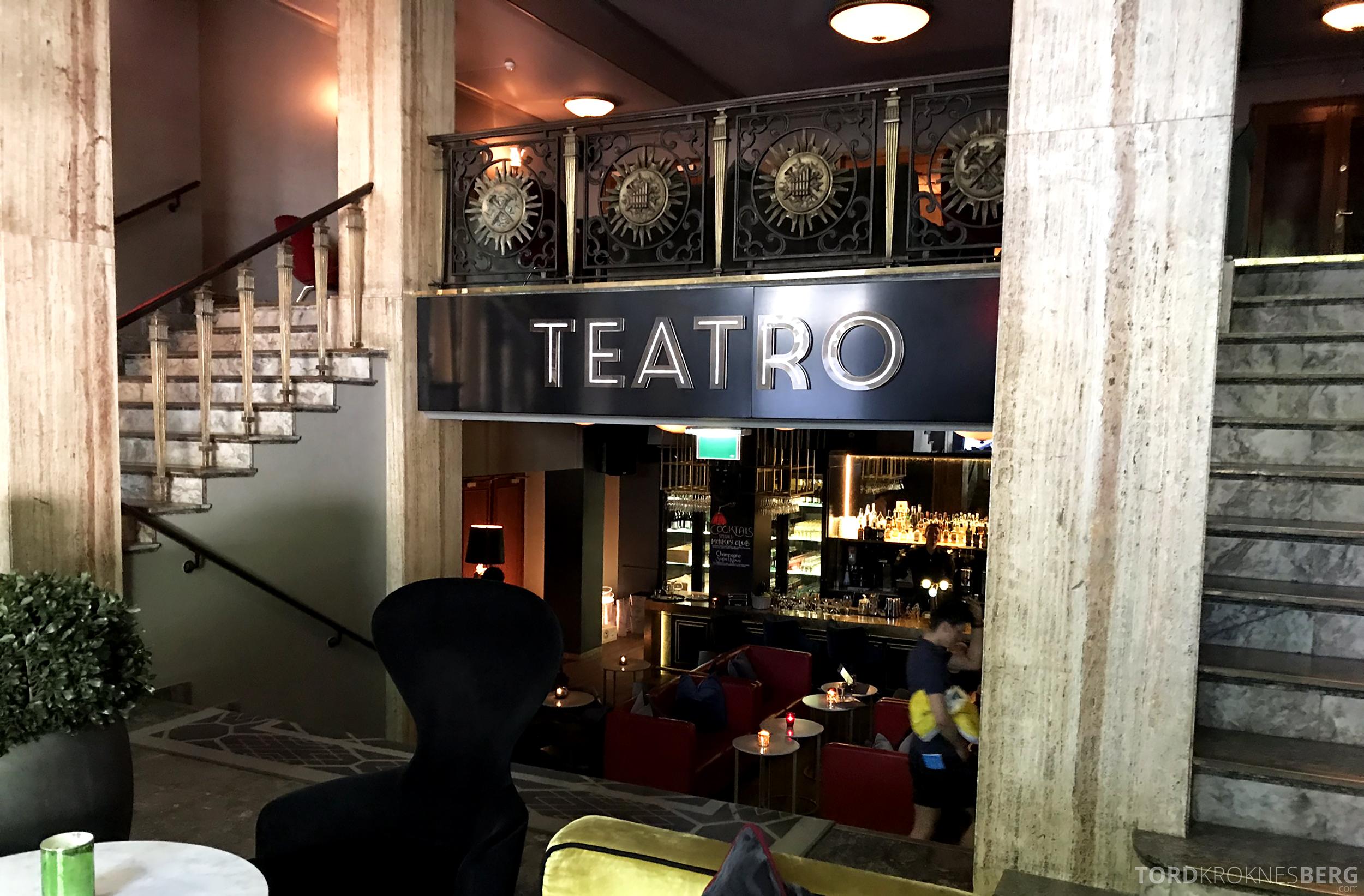 Restaurant Teatro Oslo lobbybar