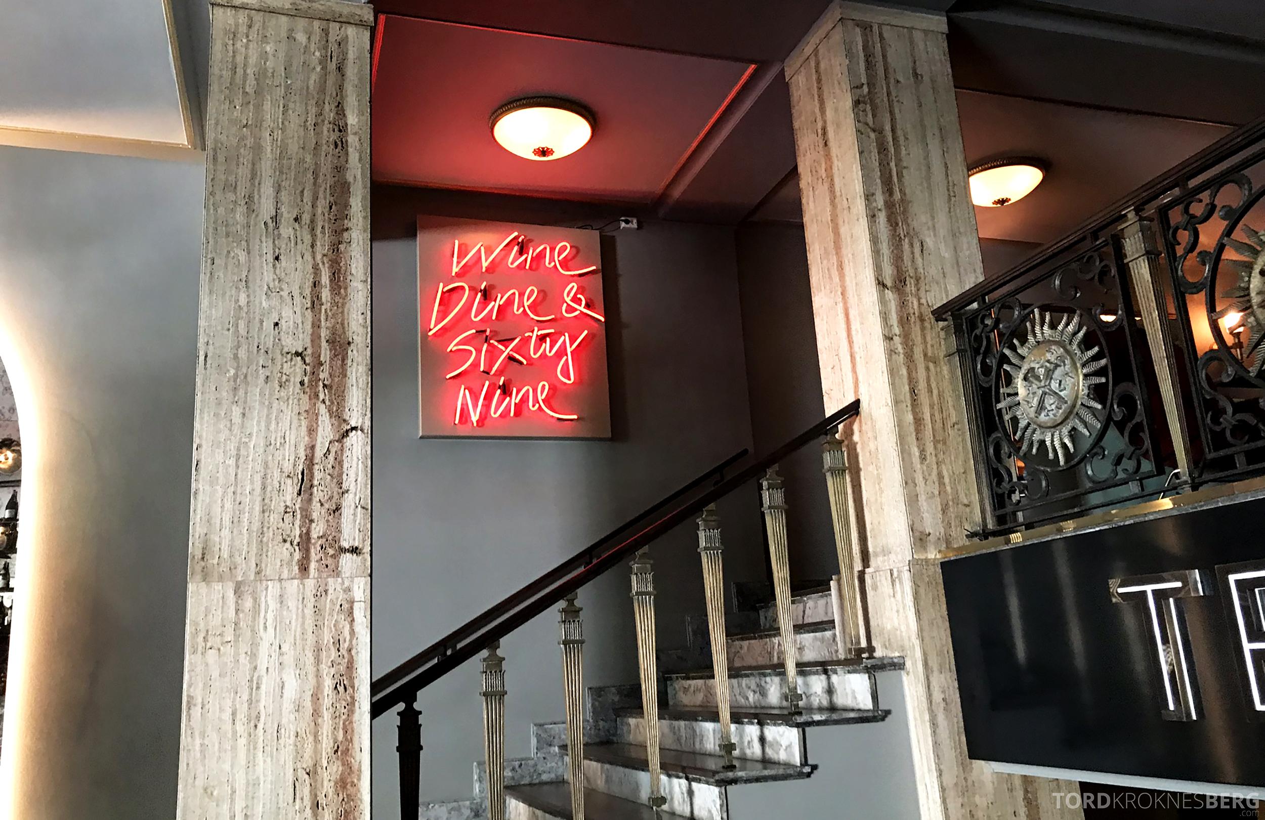 Restaurant Teatro Oslo detaljer