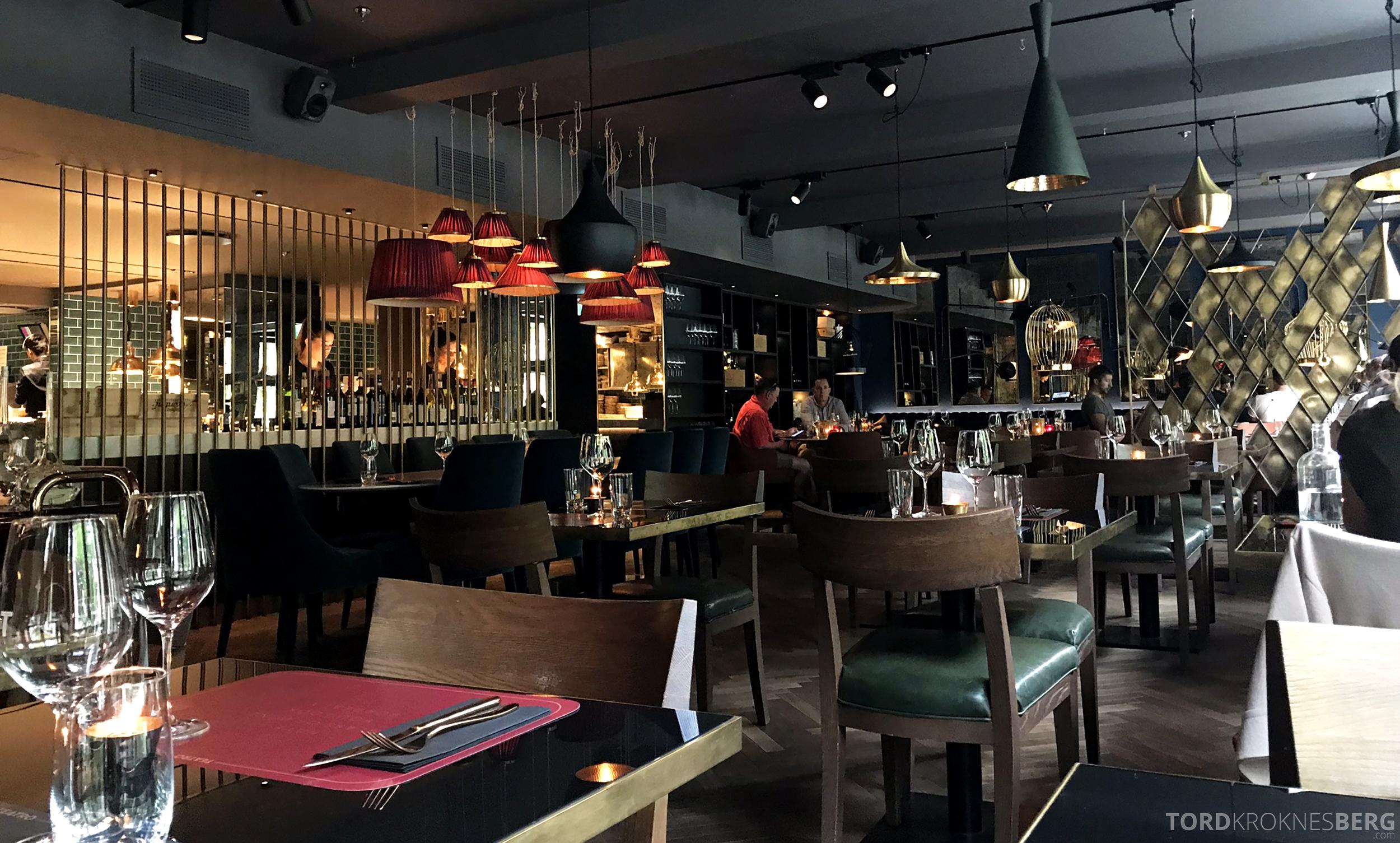 Restaurant Teatro Oslo lokale