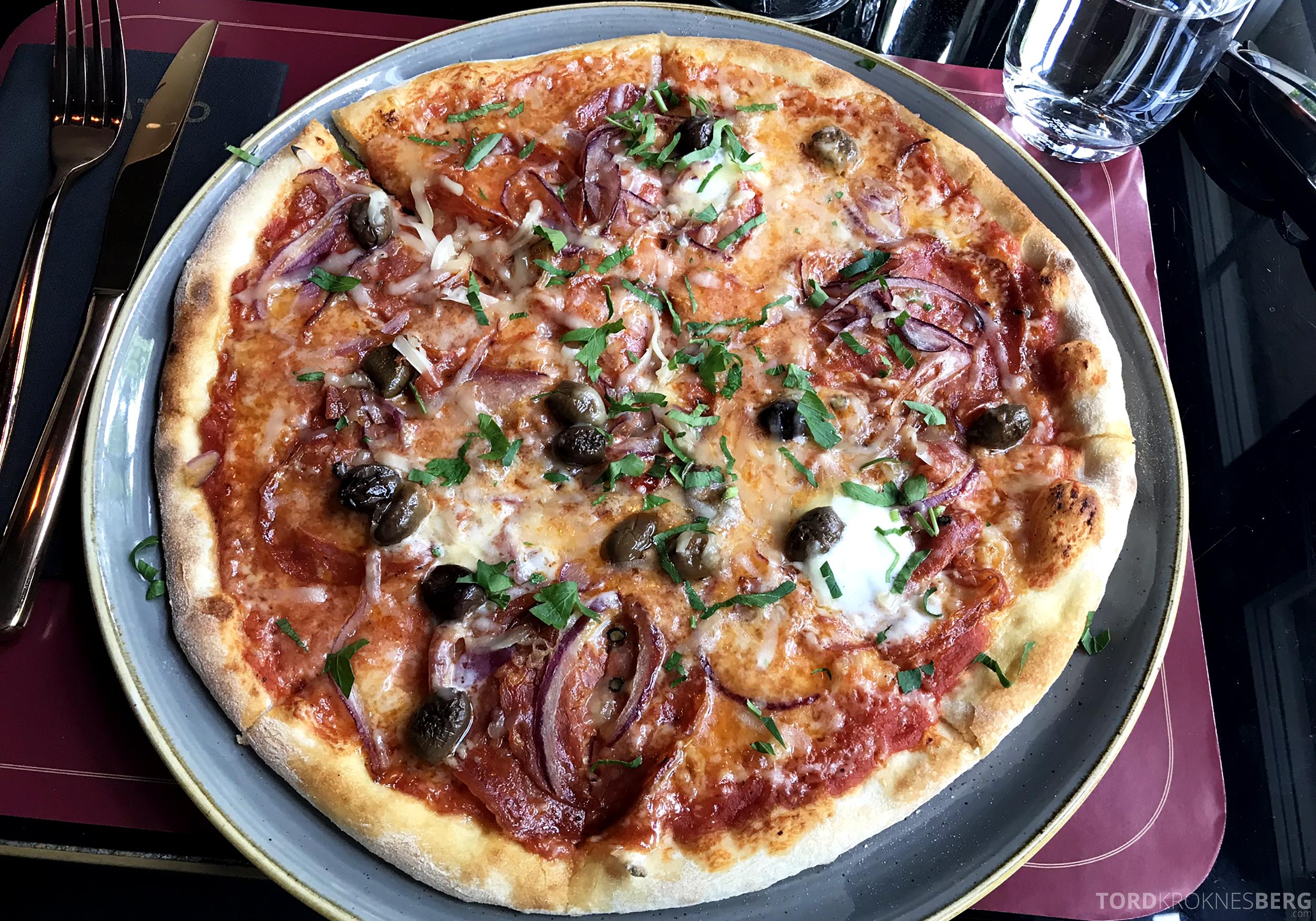 Restaurant Teatro Oslo chorizopizza