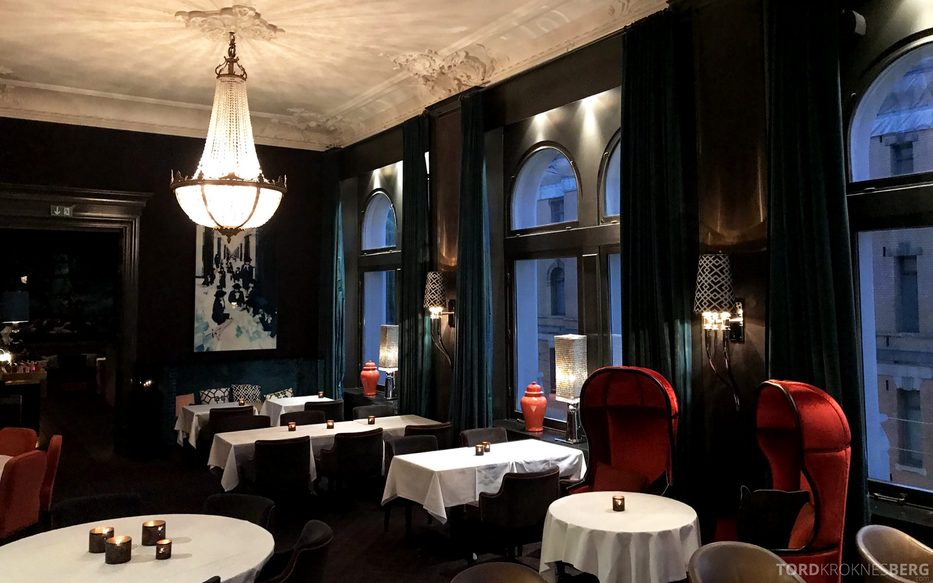 Restaurant Eik Annen Etage Oslo sitteplasser