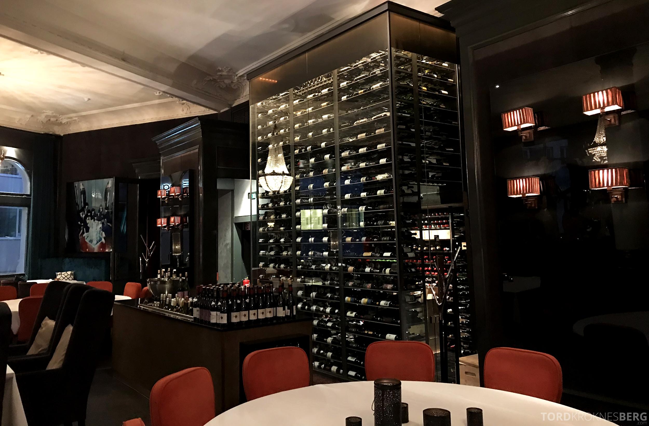 Restaurant Eik Annen Etage Oslo vin