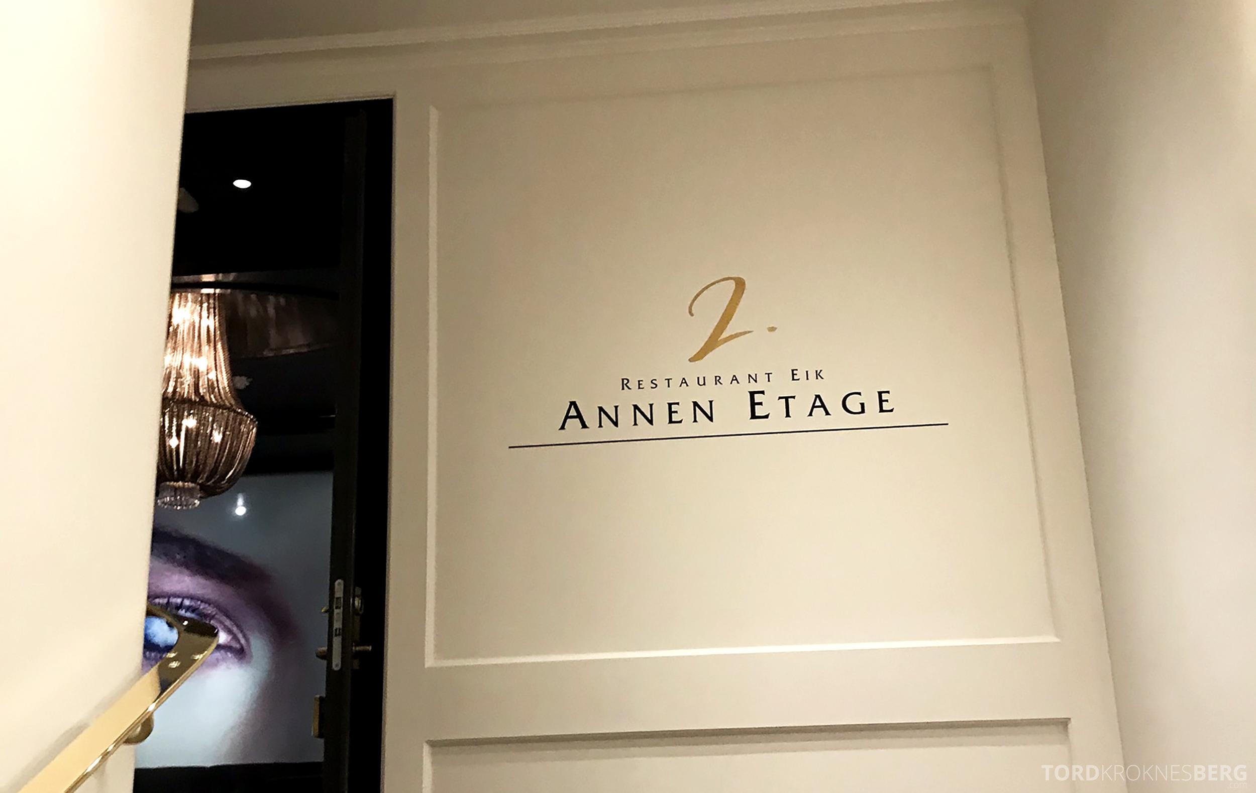 Restaurant Eik Annen Etage Oslo inngangsparti