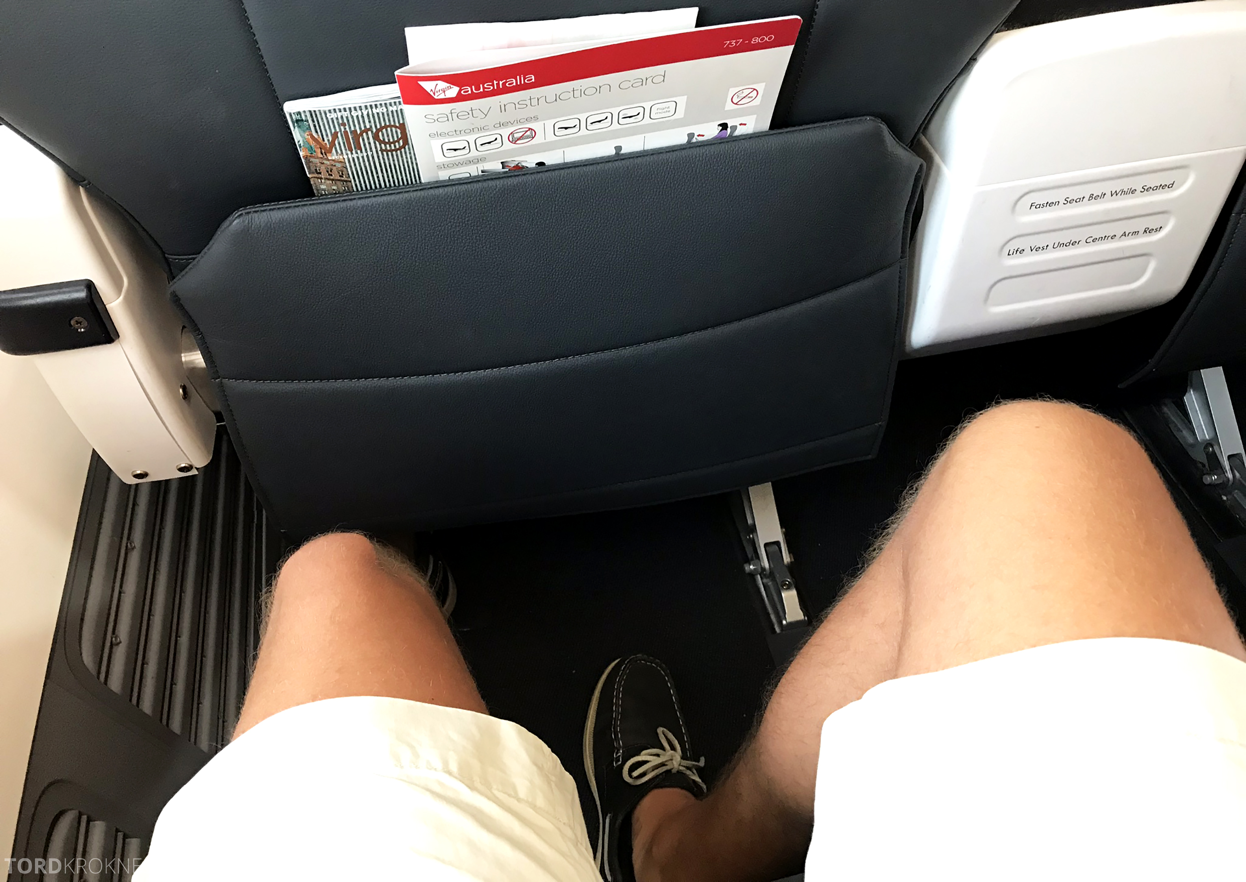 Virgin Australia Business Class Sydney Brisbane benplass