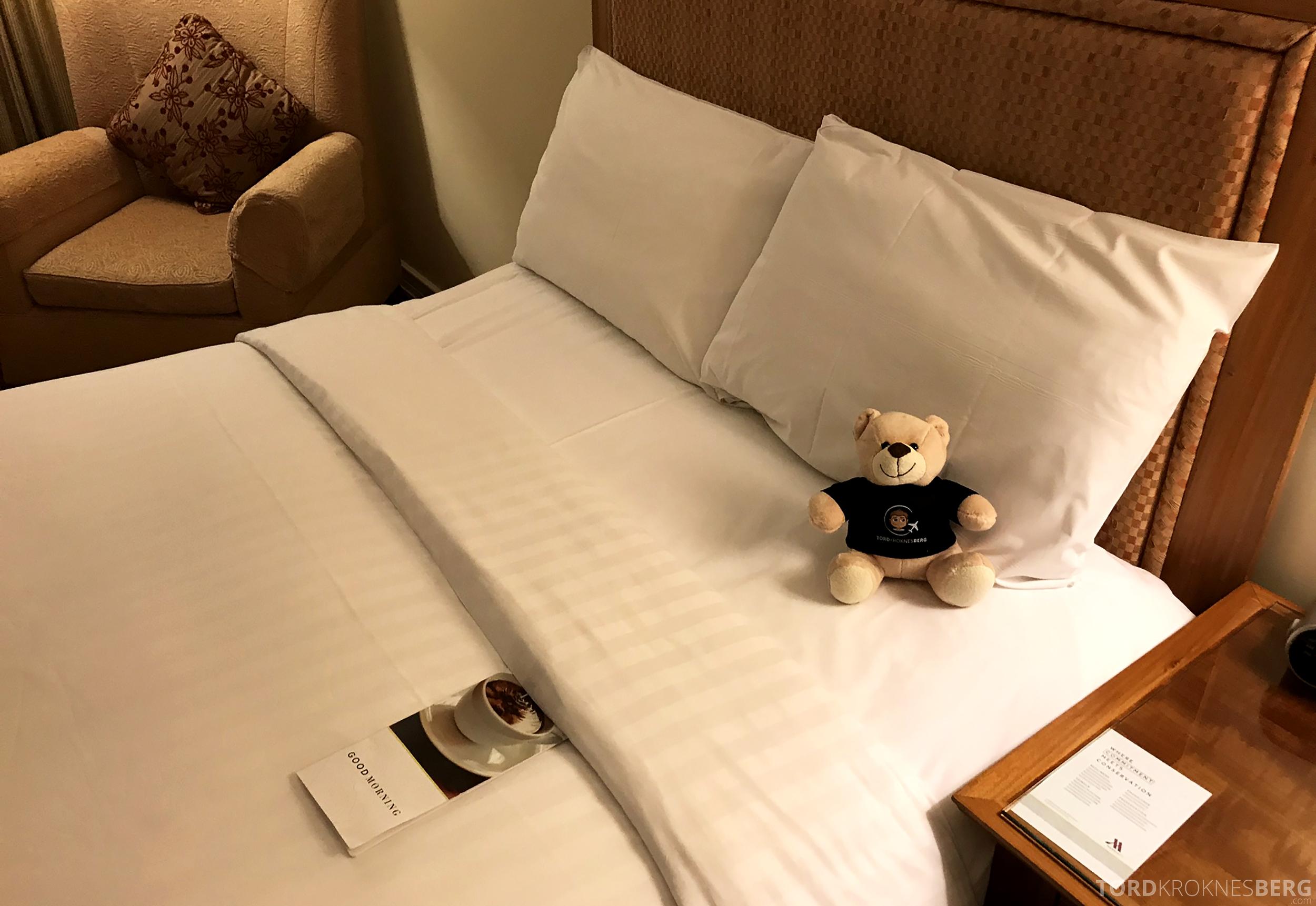 Brisbane Marriott Hotel reisefølget seng
