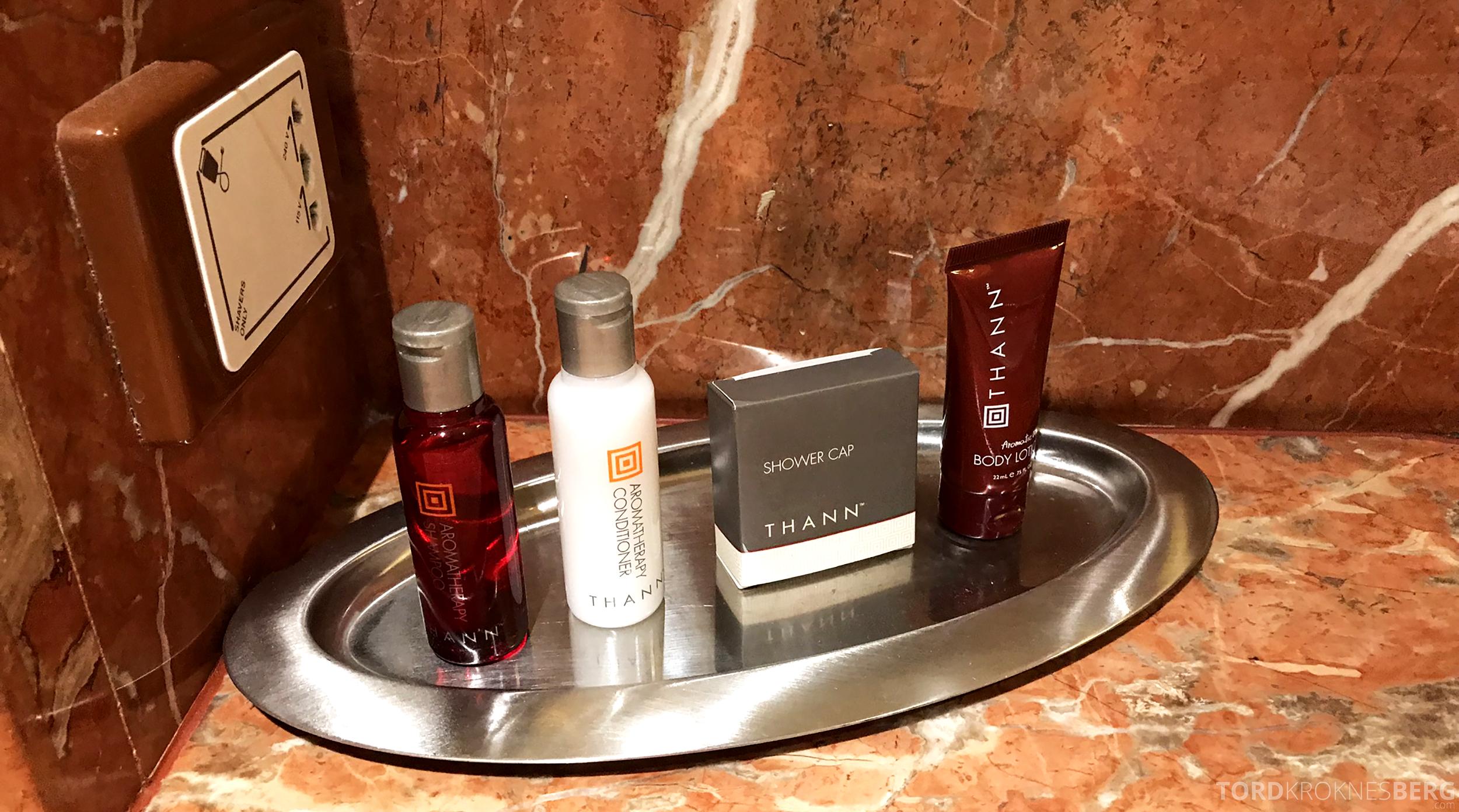 Brisbane Marriott Hotel toalettartikler