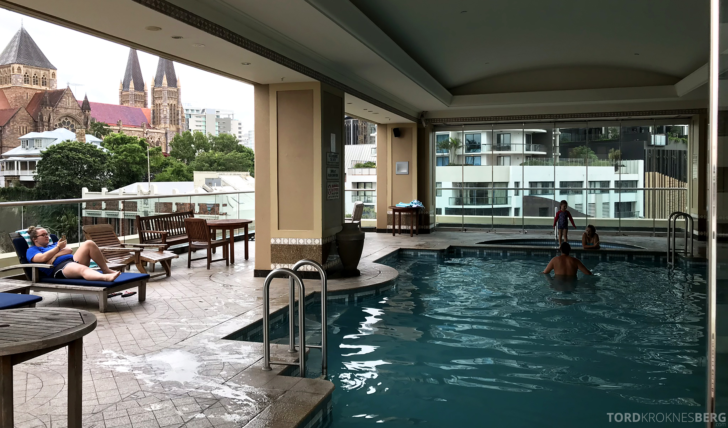 Brisbane Marriott Hotel basseng