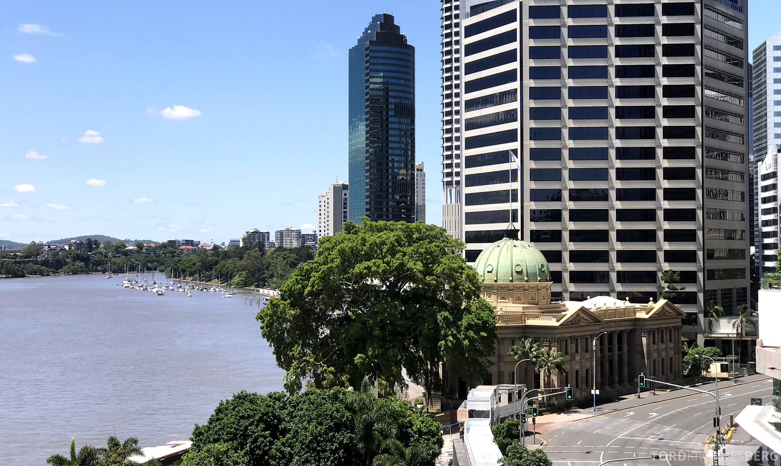Brisbane Marriott Hotel utsikt